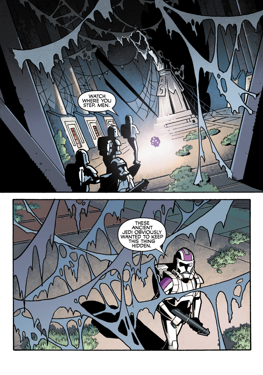 Read online Star Wars: The Clone Wars - Defenders of the Lost Temple comic -  Issue # Full - 11