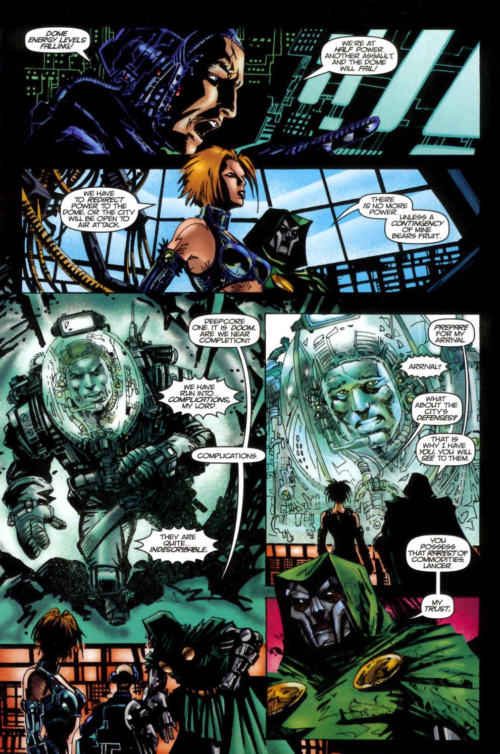 Read online Doom: The Emperor Returns comic -  Issue #2 - 6
