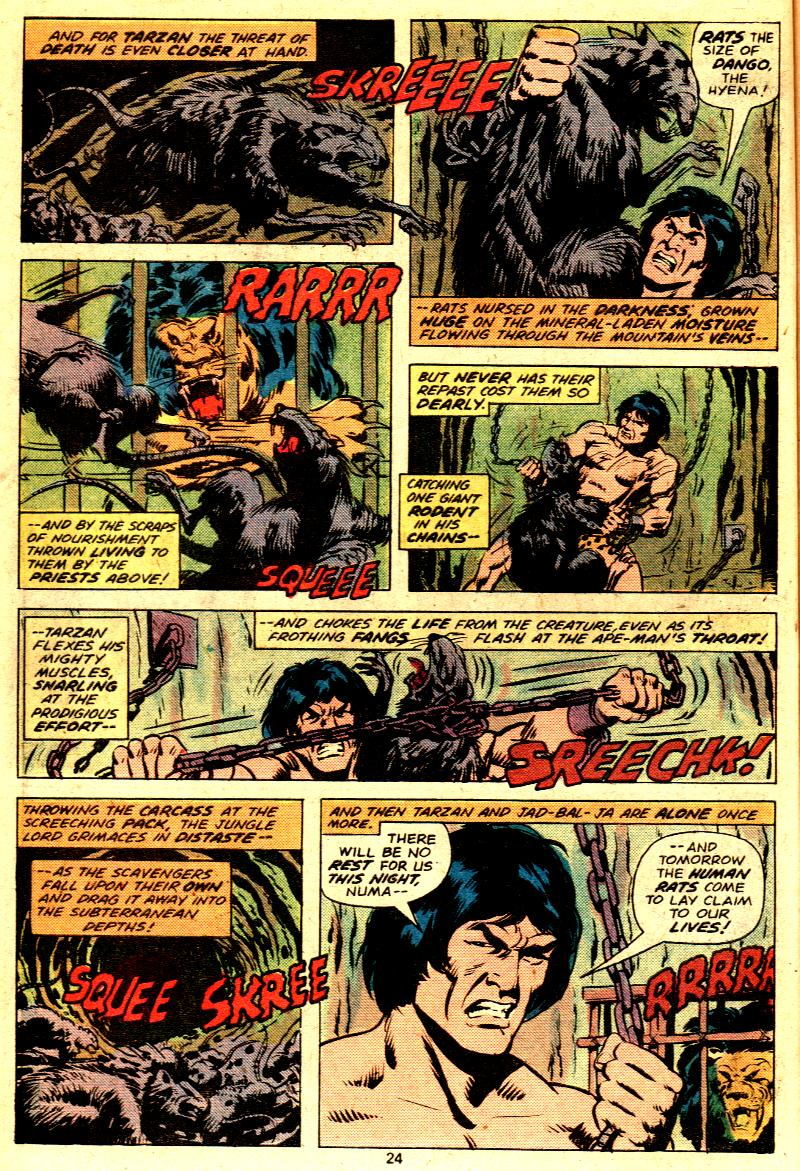 Read online Tarzan (1977) comic -  Issue # _Annual 2 - 20
