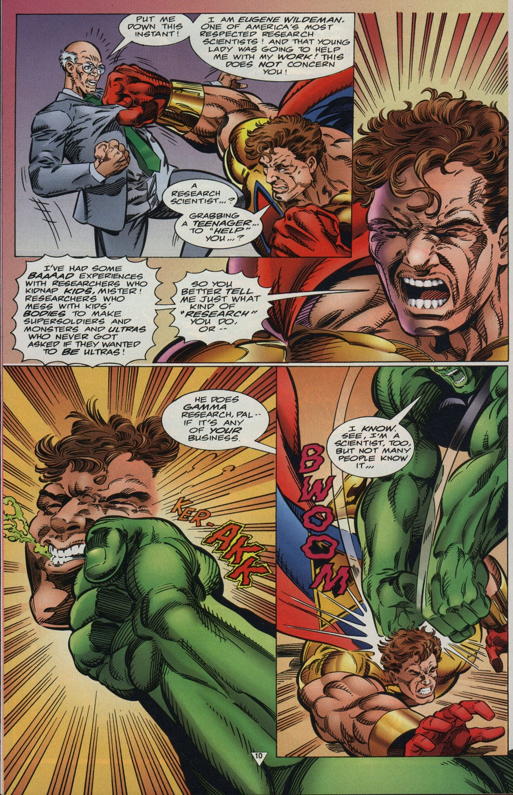 Read online Prime Vs. The Incredible Hulk comic -  Issue # Full - 13