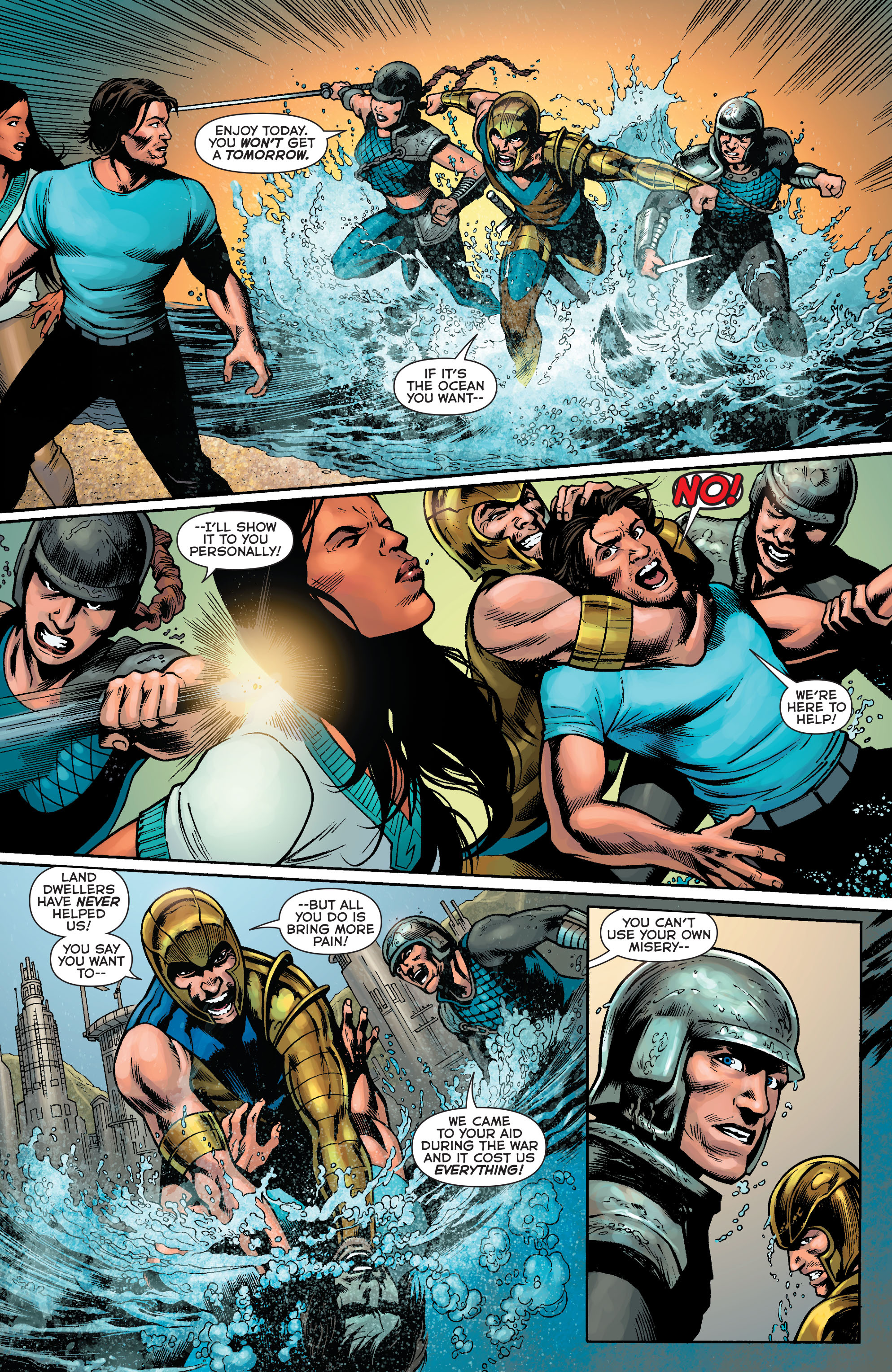 Read online Aquaman: Futures End comic -  Issue #Aquaman: Futures End Full - 4