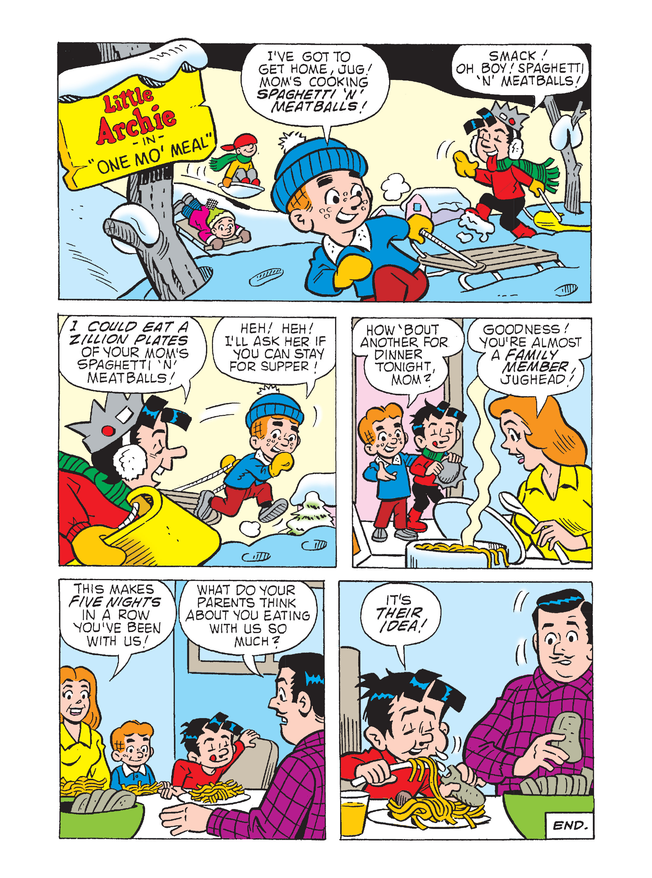 Read online Archie's Funhouse Double Digest comic -  Issue #2 - 139