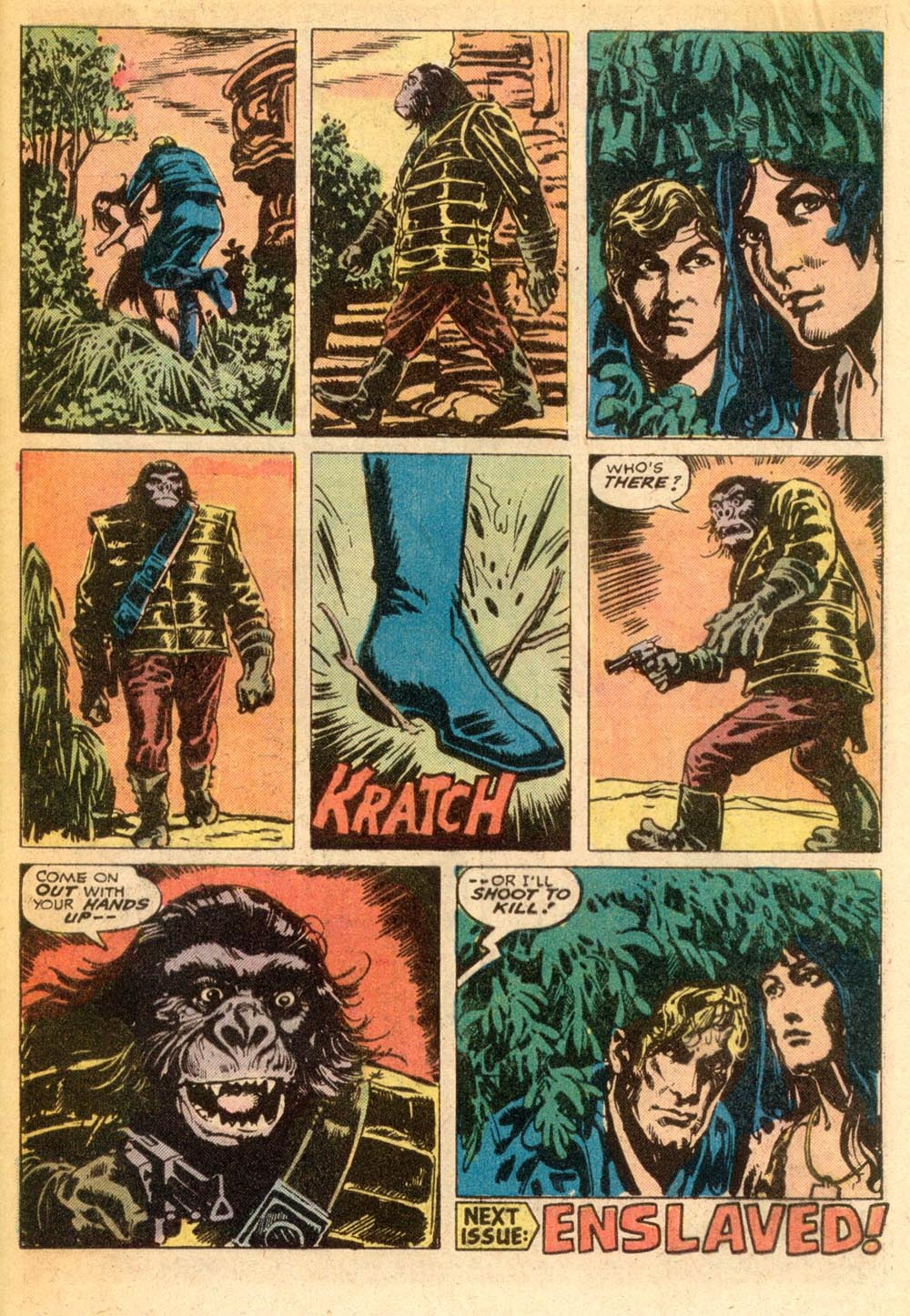 Read online Adventures on the Planet of the Apes comic -  Issue #7 - 20
