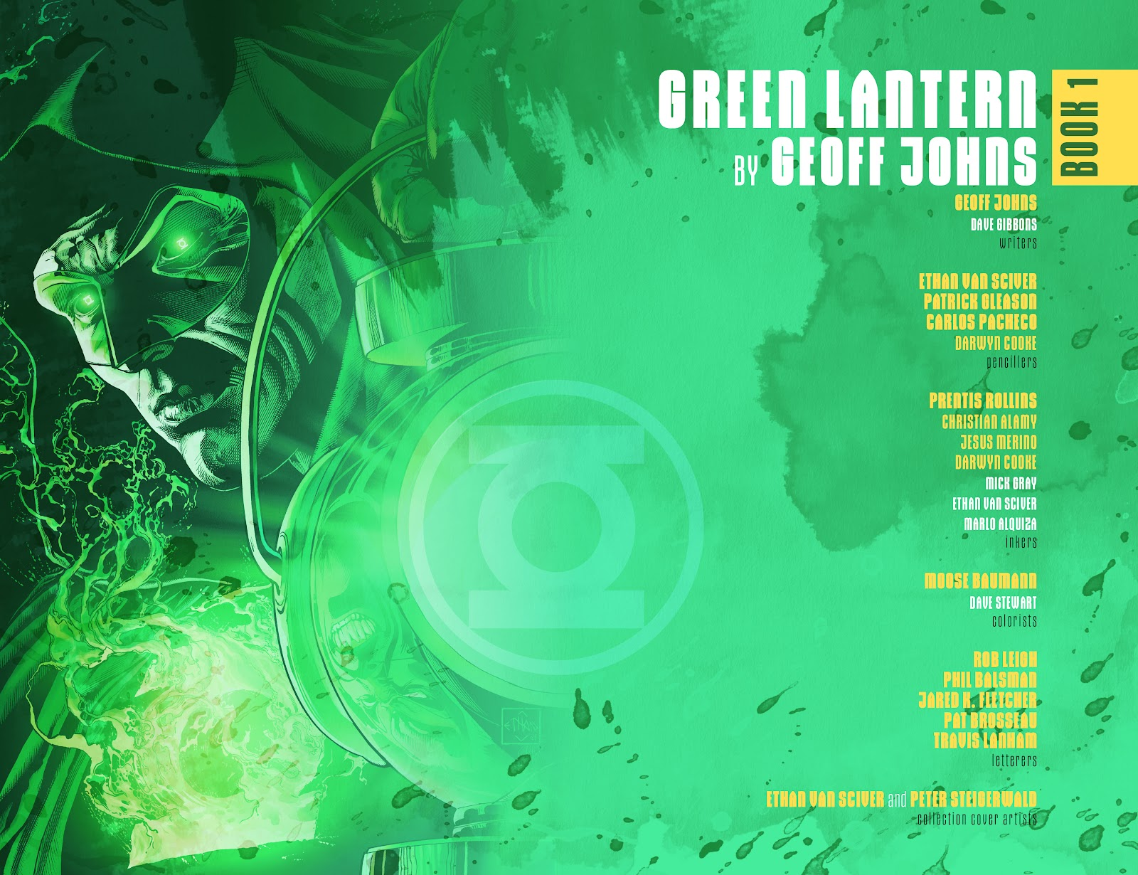 Read online Green Lantern by Geoff Johns comic -  Issue # TPB 1 (Part 1) - 3