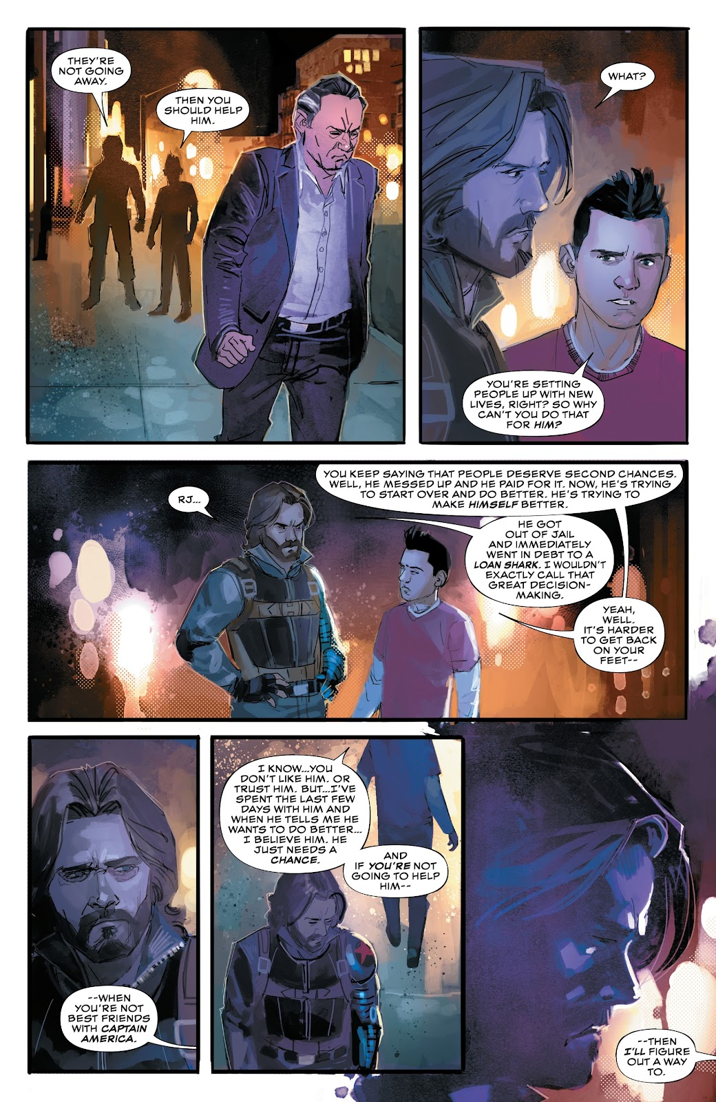 Read online Winter Soldier (2018) comic -  Issue #4 - 12
