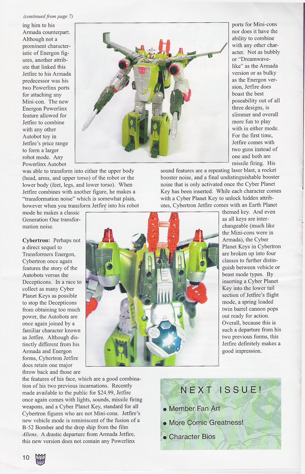 Read online Transformers: Collectors' Club comic -  Issue #4 - 10