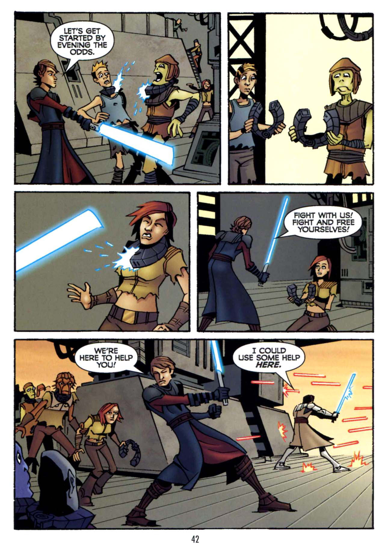 Read online Star Wars: The Clone Wars - Shipyards of Doom comic -  Issue # Full - 40