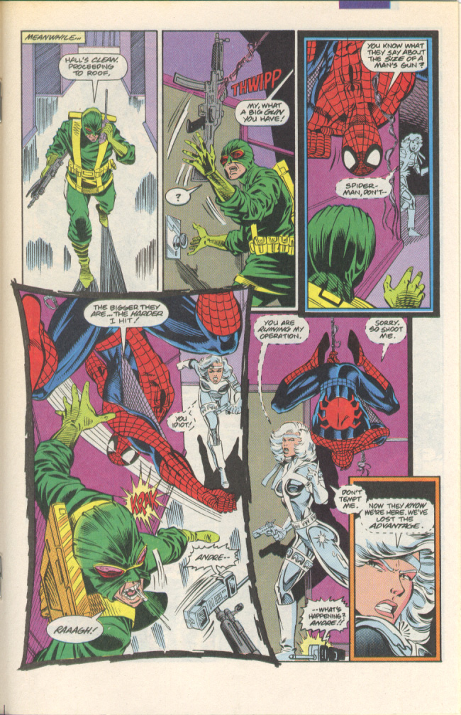 Read online Silver Sable and the Wild Pack comic -  Issue #1 - 14