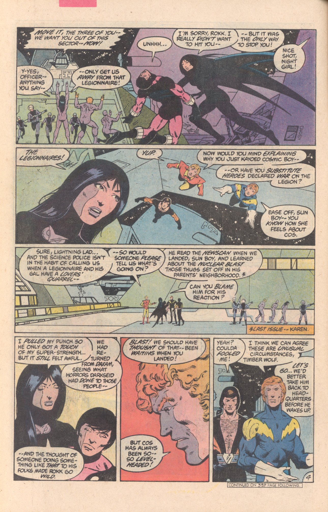 Legion of Super-Heroes (1980) 297 Page 4
