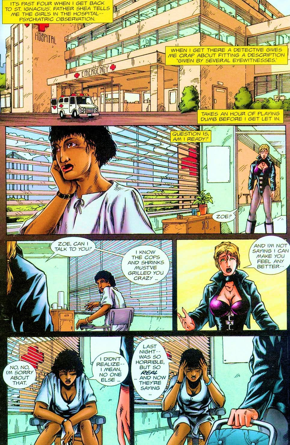 Shotgun Mary: Blood Lore issue 1 - Page 22
