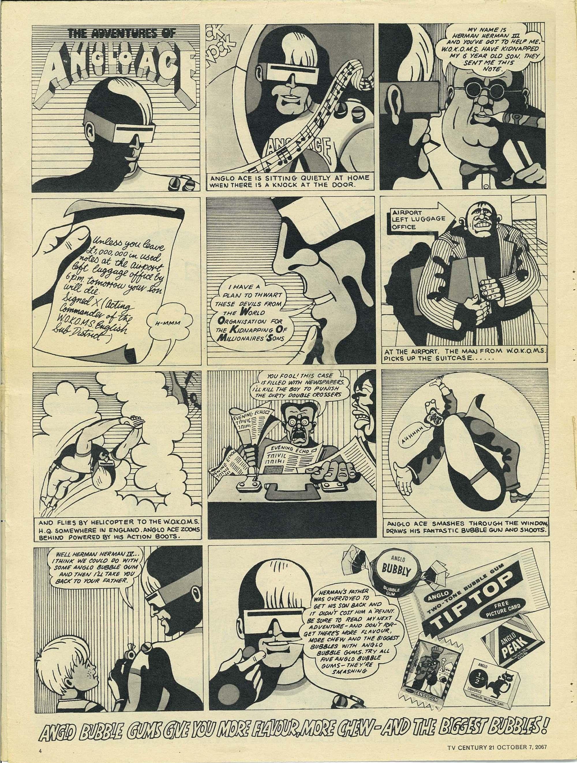 Read online TV Century 21 (TV 21) comic -  Issue #142 - 4