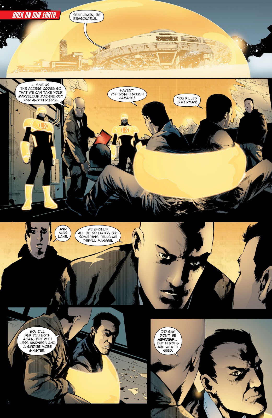 Read online Smallville Season 11 [II] comic -  Issue # TPB 8 - 89