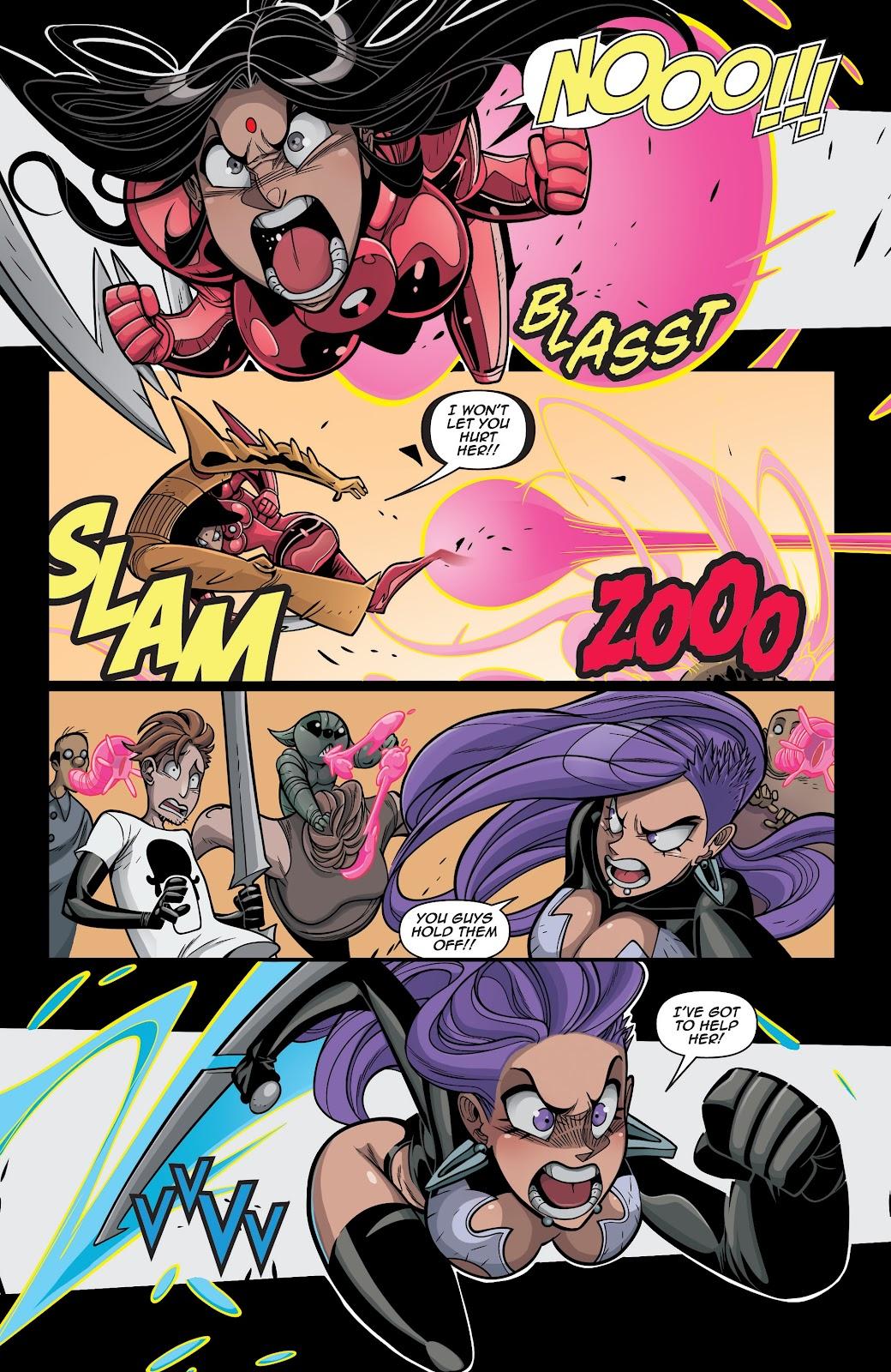 Read online Vampblade Season 3 comic -  Issue #12 - 17