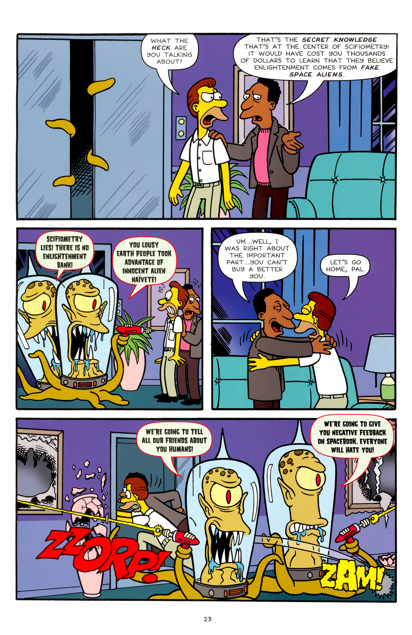 Read online Simpsons Comics comic -  Issue #179 - 19