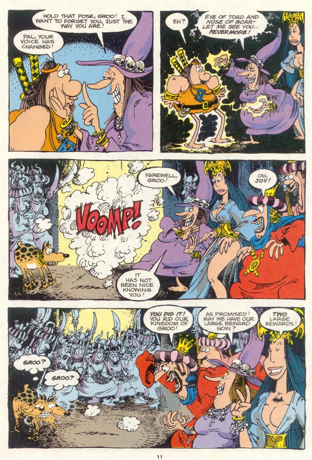 Read online Sergio Aragonés Groo the Wanderer comic -  Issue #85 - 9