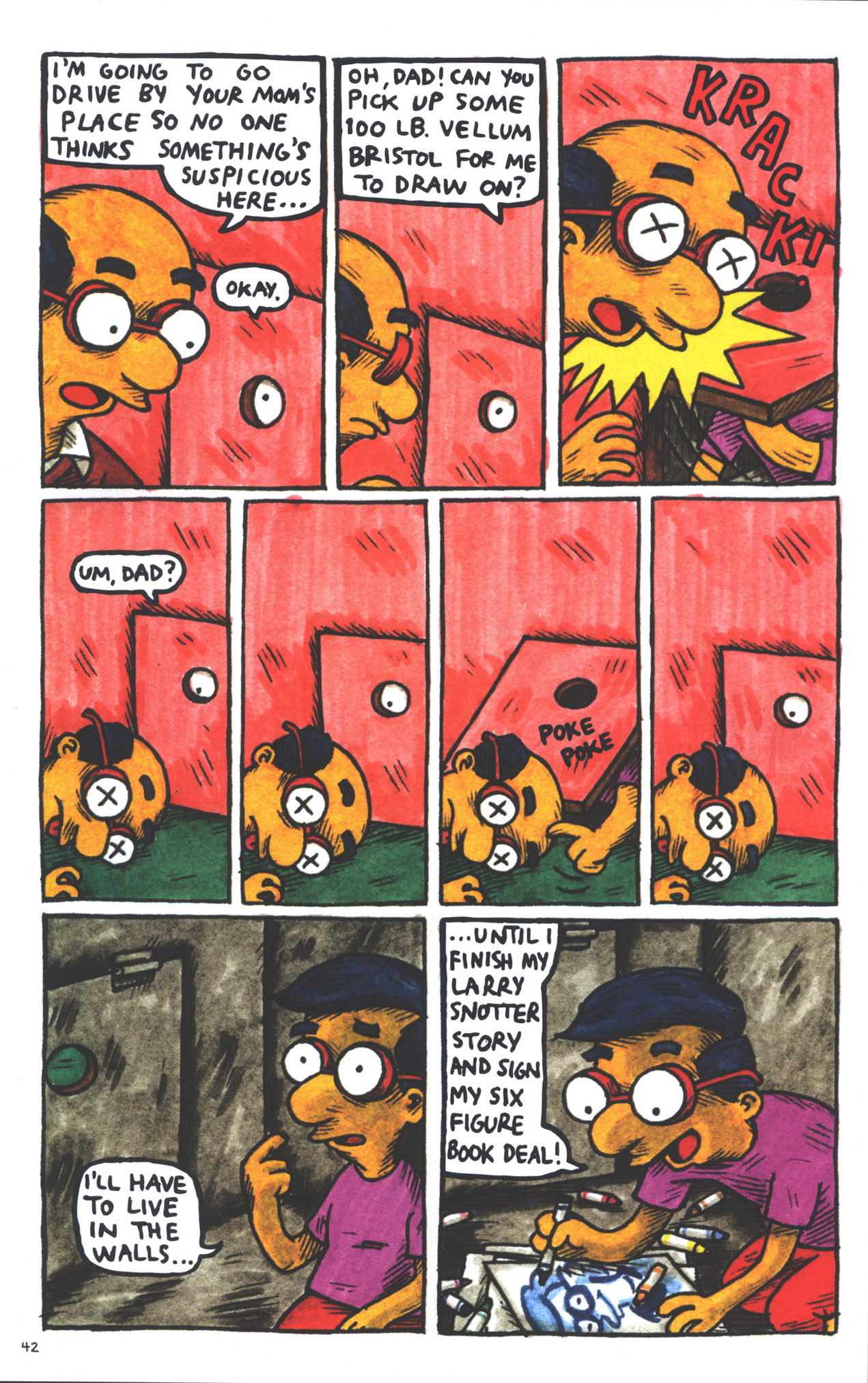 Read online Treehouse of Horror comic -  Issue #15 - 45