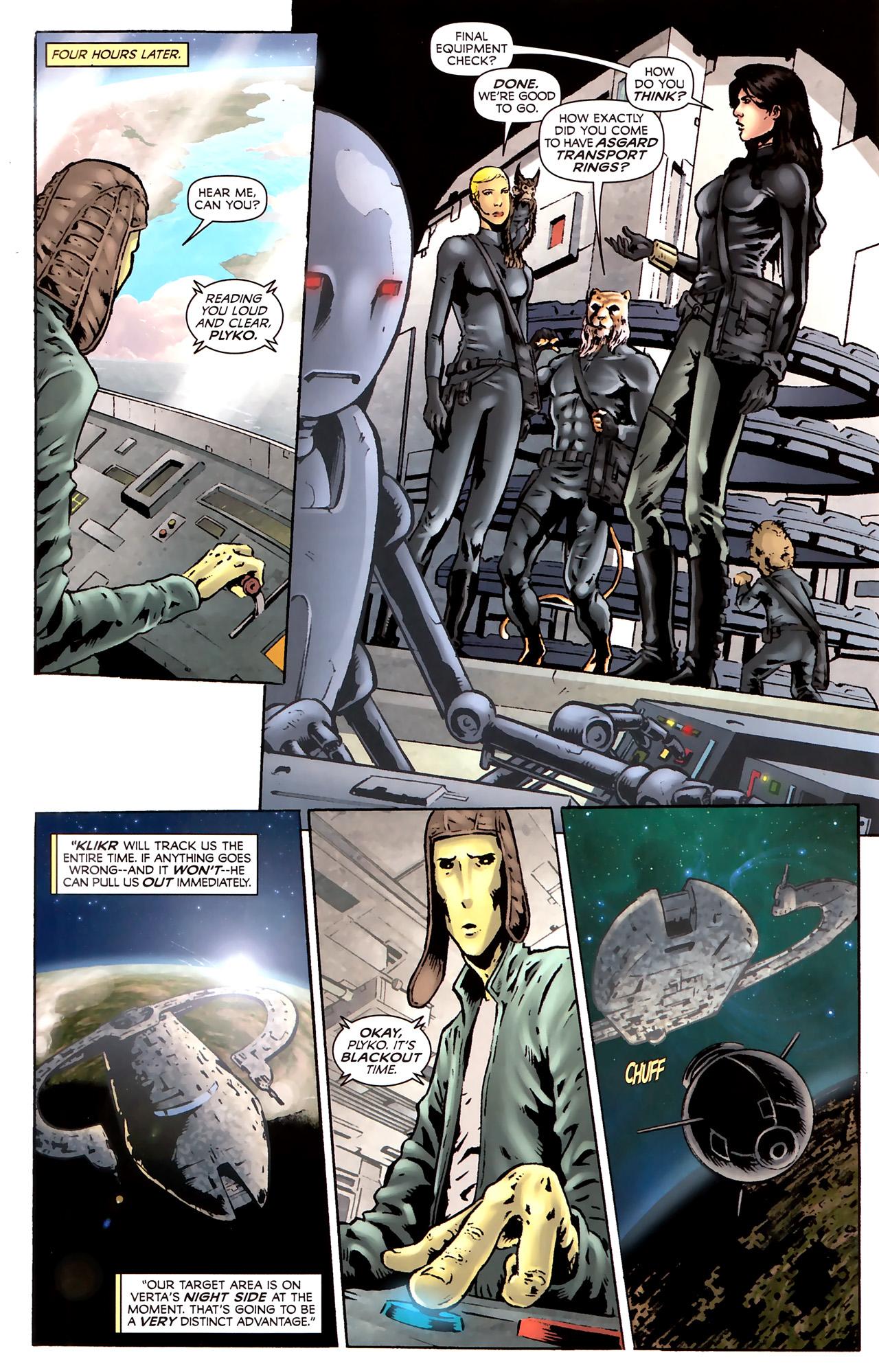 Read online Stargate Vala Mal Doran comic -  Issue #2 - 8
