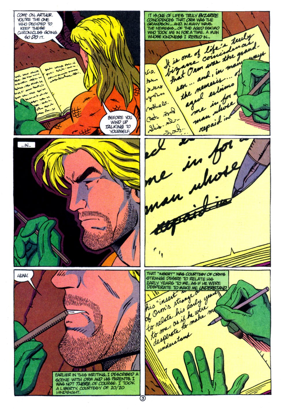 Read online Aquaman: Time and Tide comic -  Issue #4 - 4
