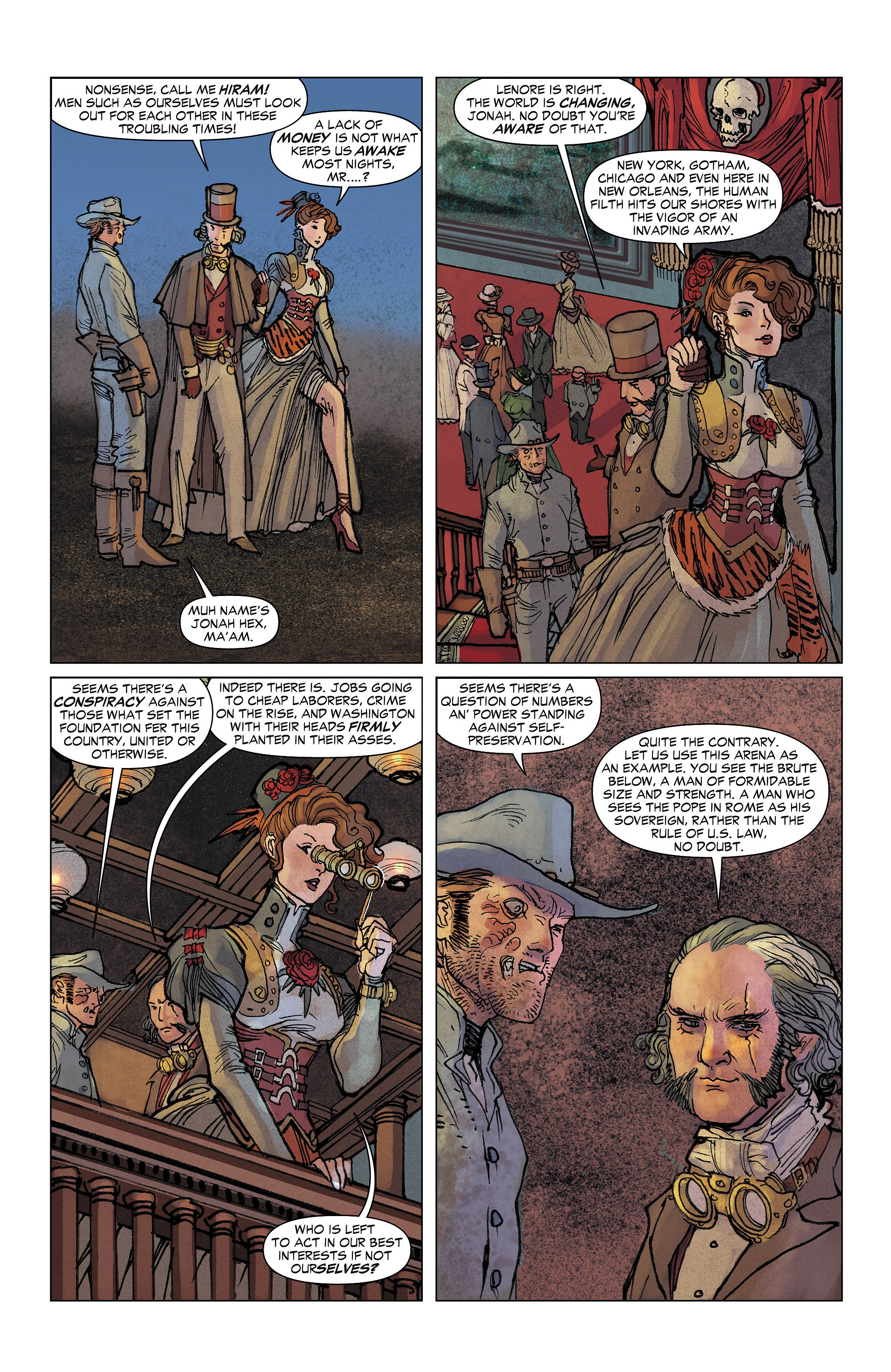 Read online All-Star Western (2011) comic -  Issue #7 - 11
