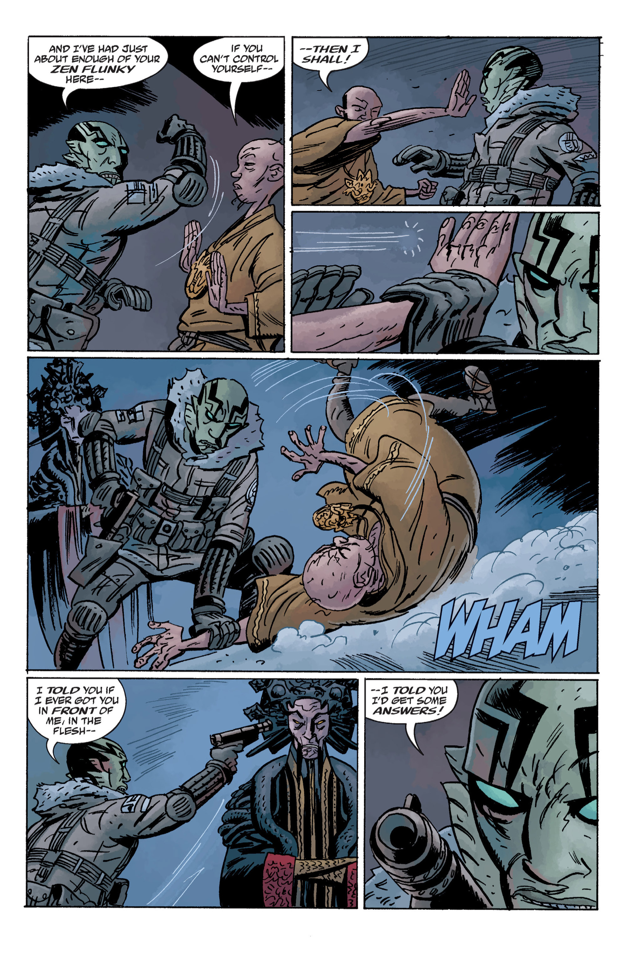 Read online B.P.R.D. (2003) comic -  Issue # TPB 11 - 46