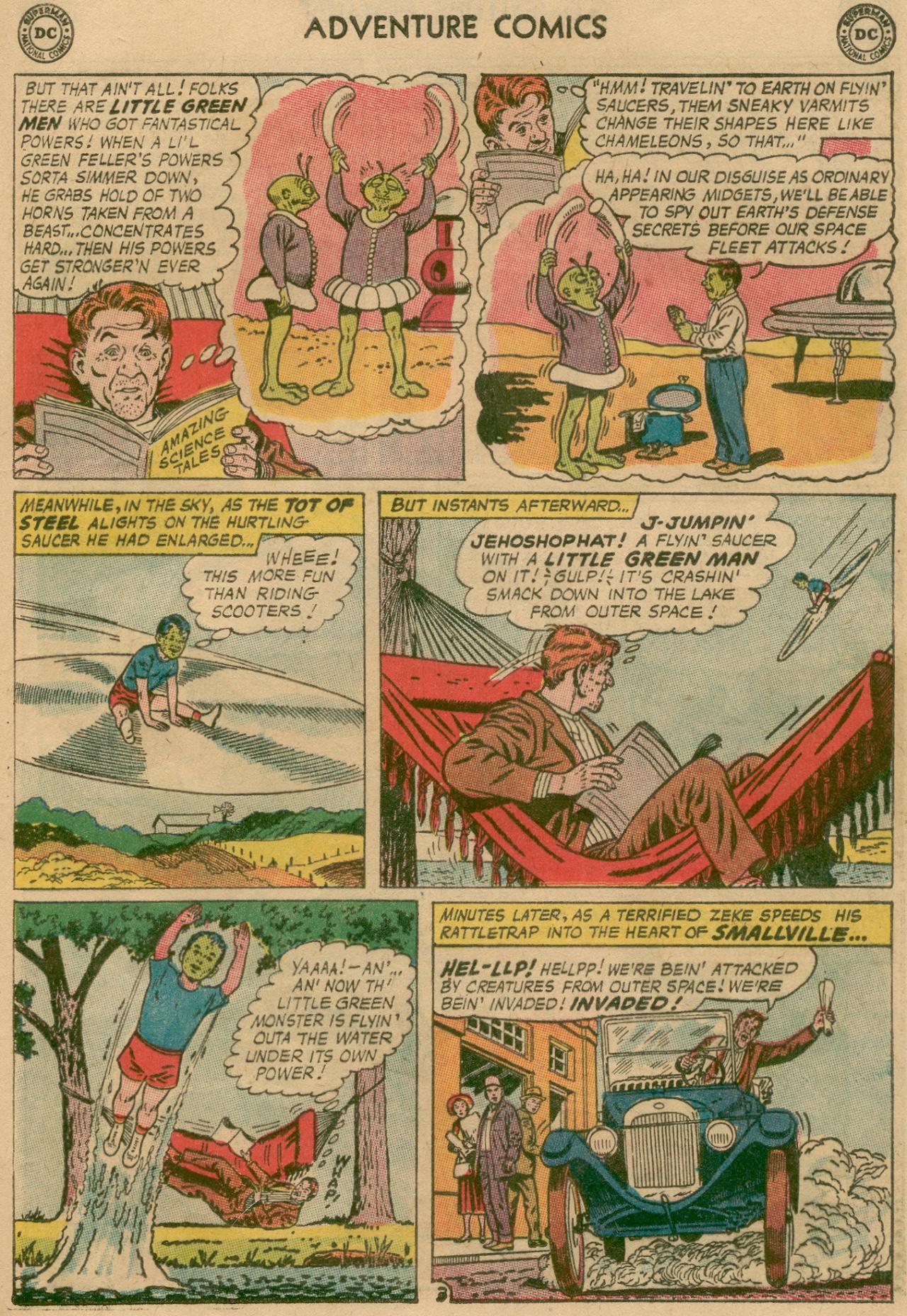 Read online Adventure Comics (1938) comic -  Issue #311 - 23