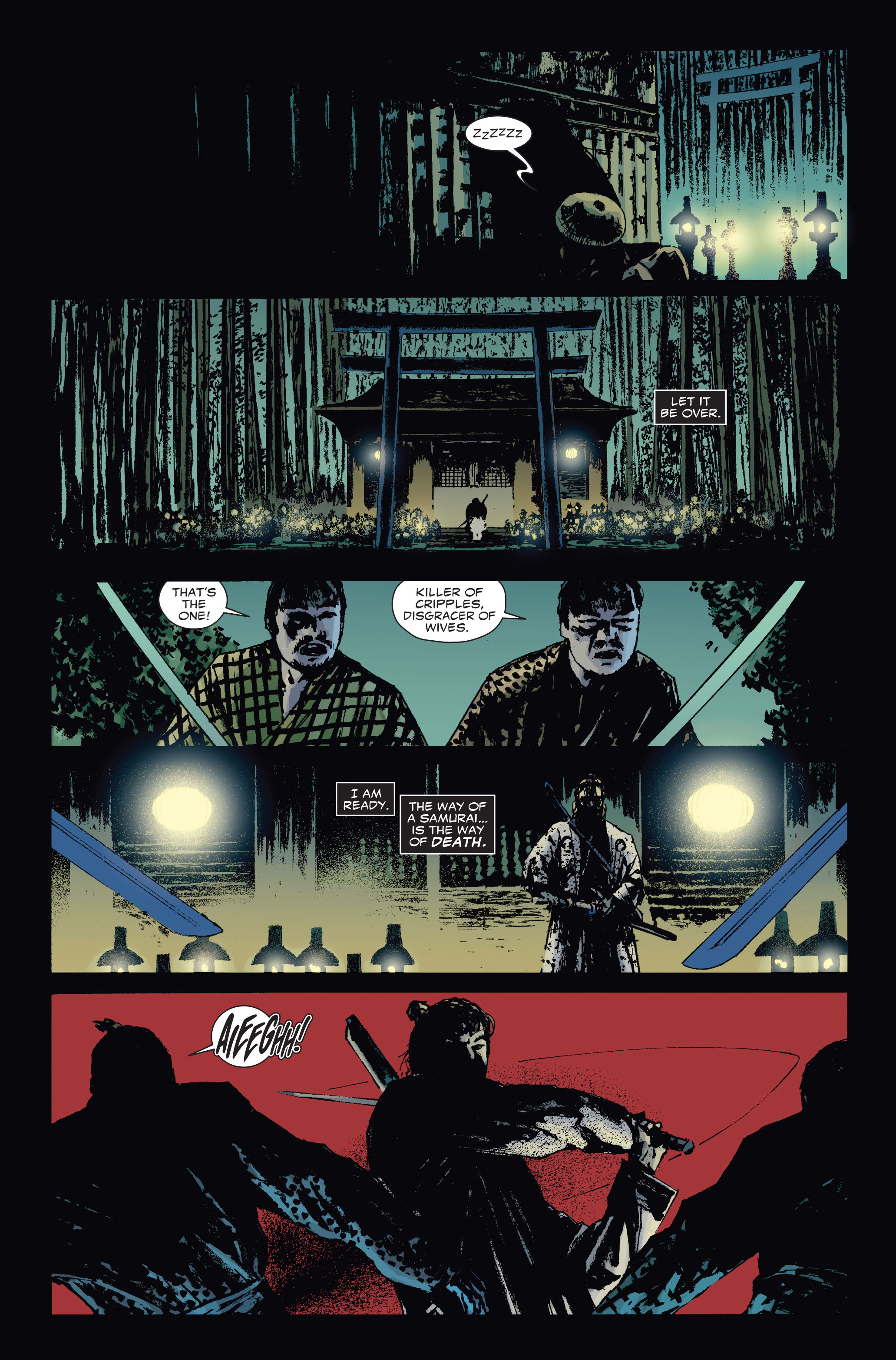 Read online 5 Ronin (2011) comic -  Issue #3 - 2