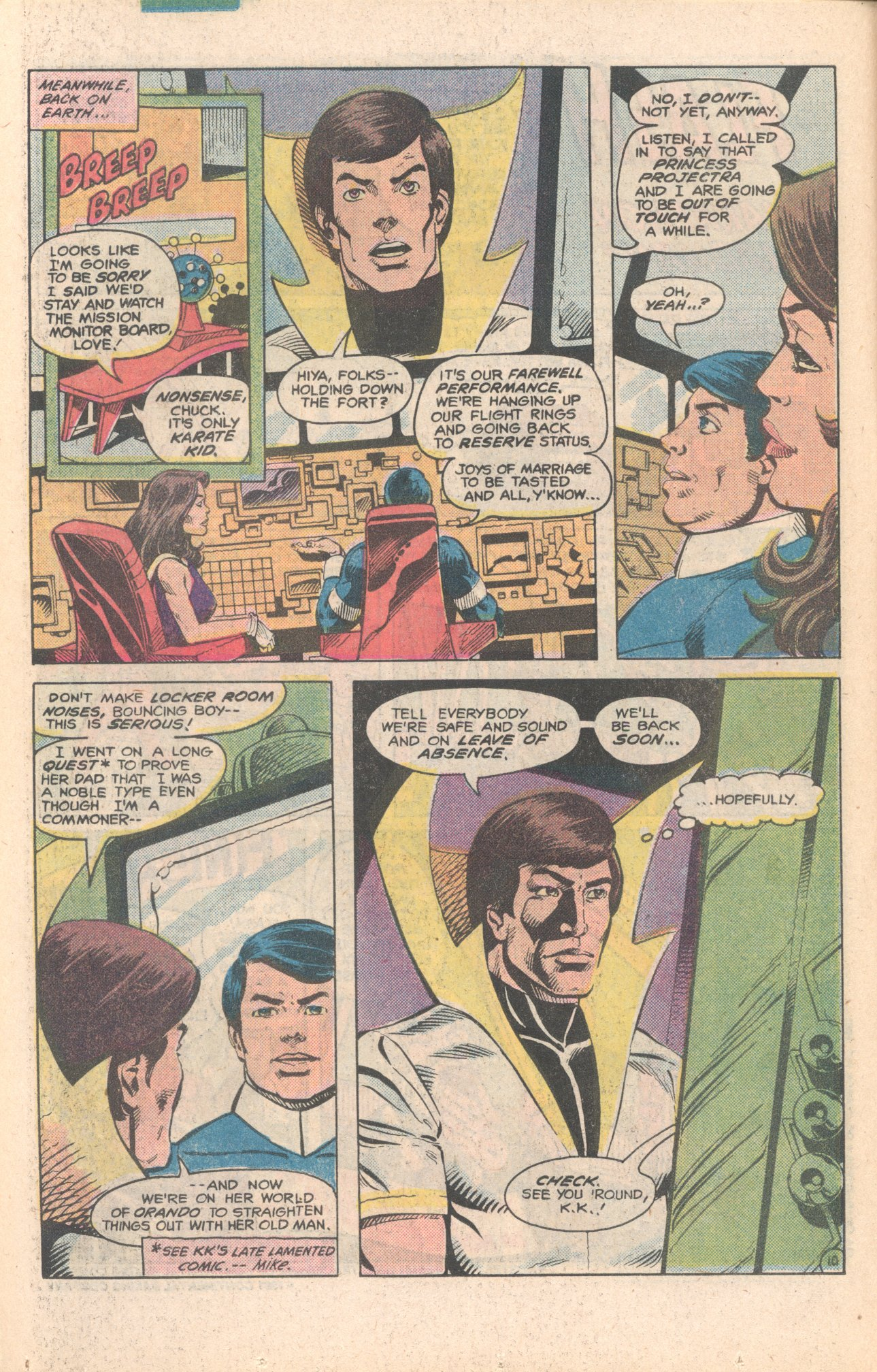Legion of Super-Heroes (1980) 284 Page 10