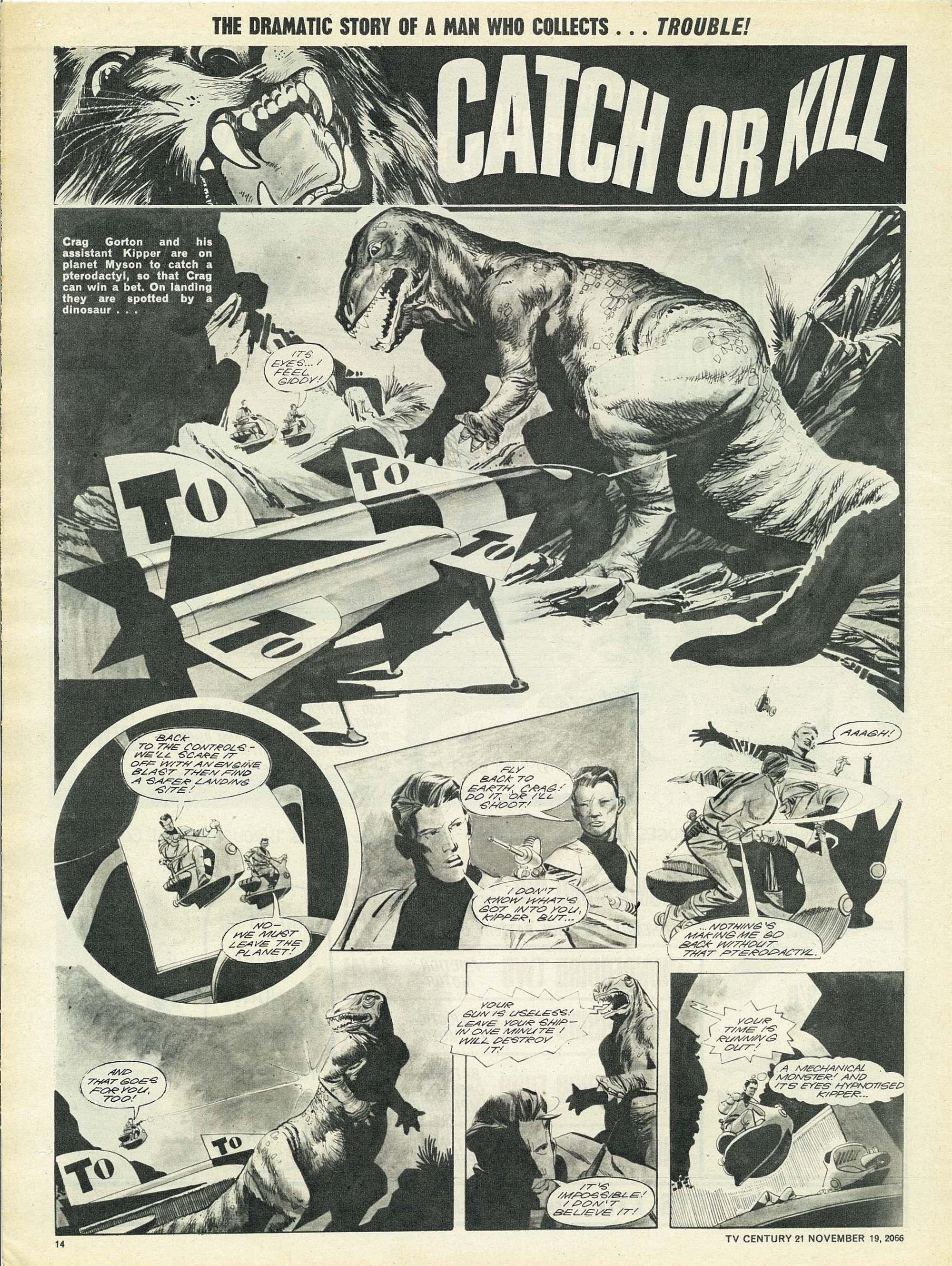 Read online TV Century 21 (TV 21) comic -  Issue #96 - 13