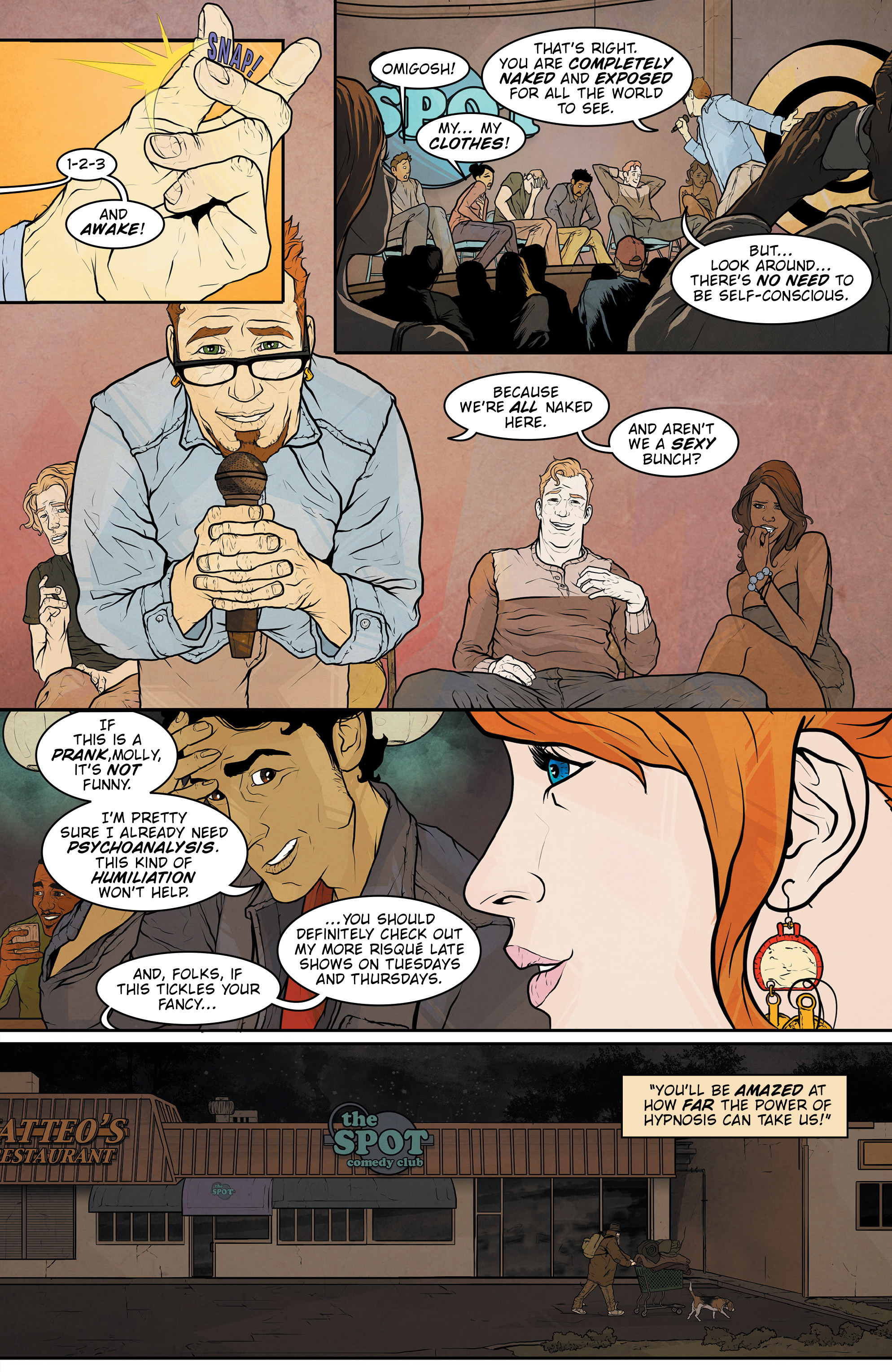 Read online Regression comic -  Issue #1 - 13