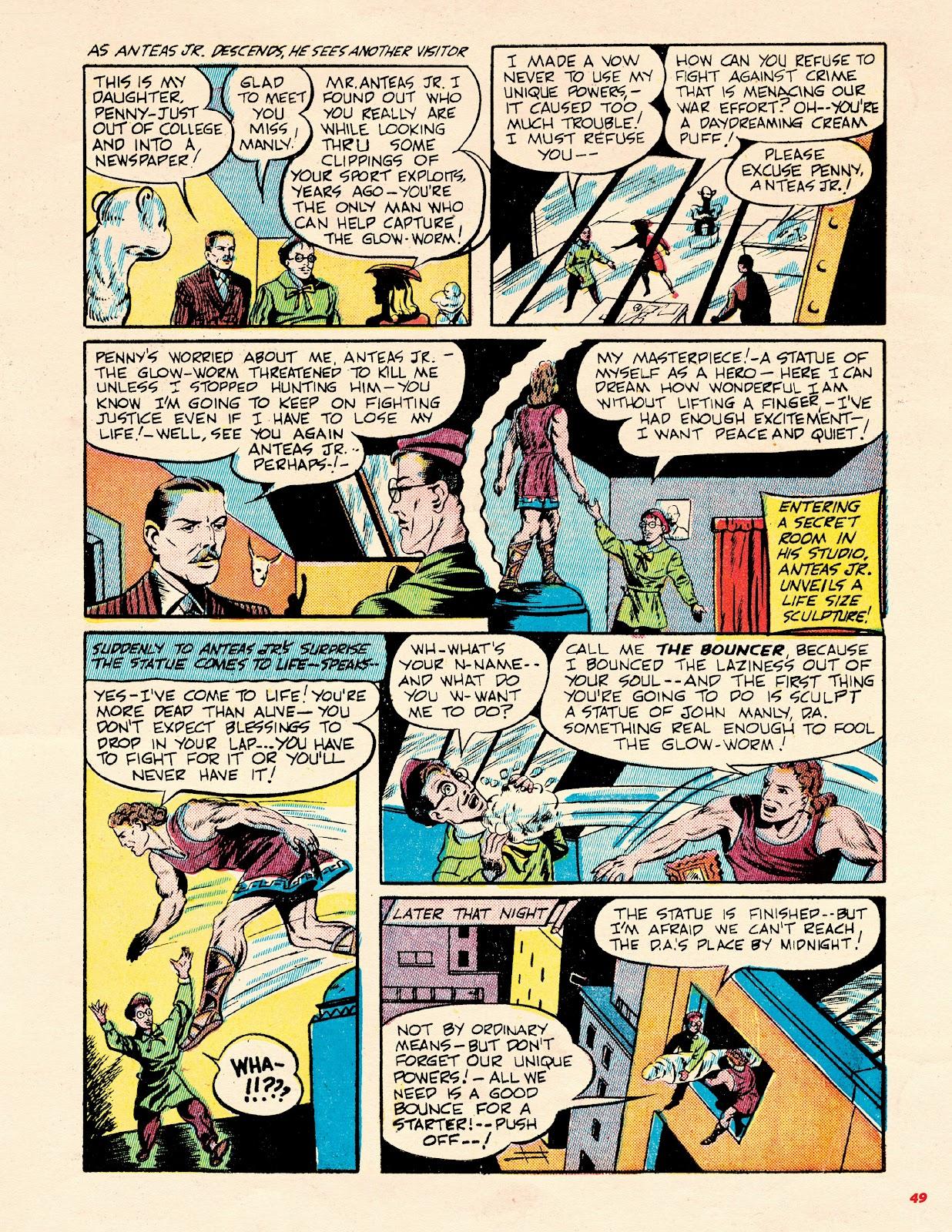 Read online Super Weird Heroes comic -  Issue # TPB 2 (Part 1) - 49