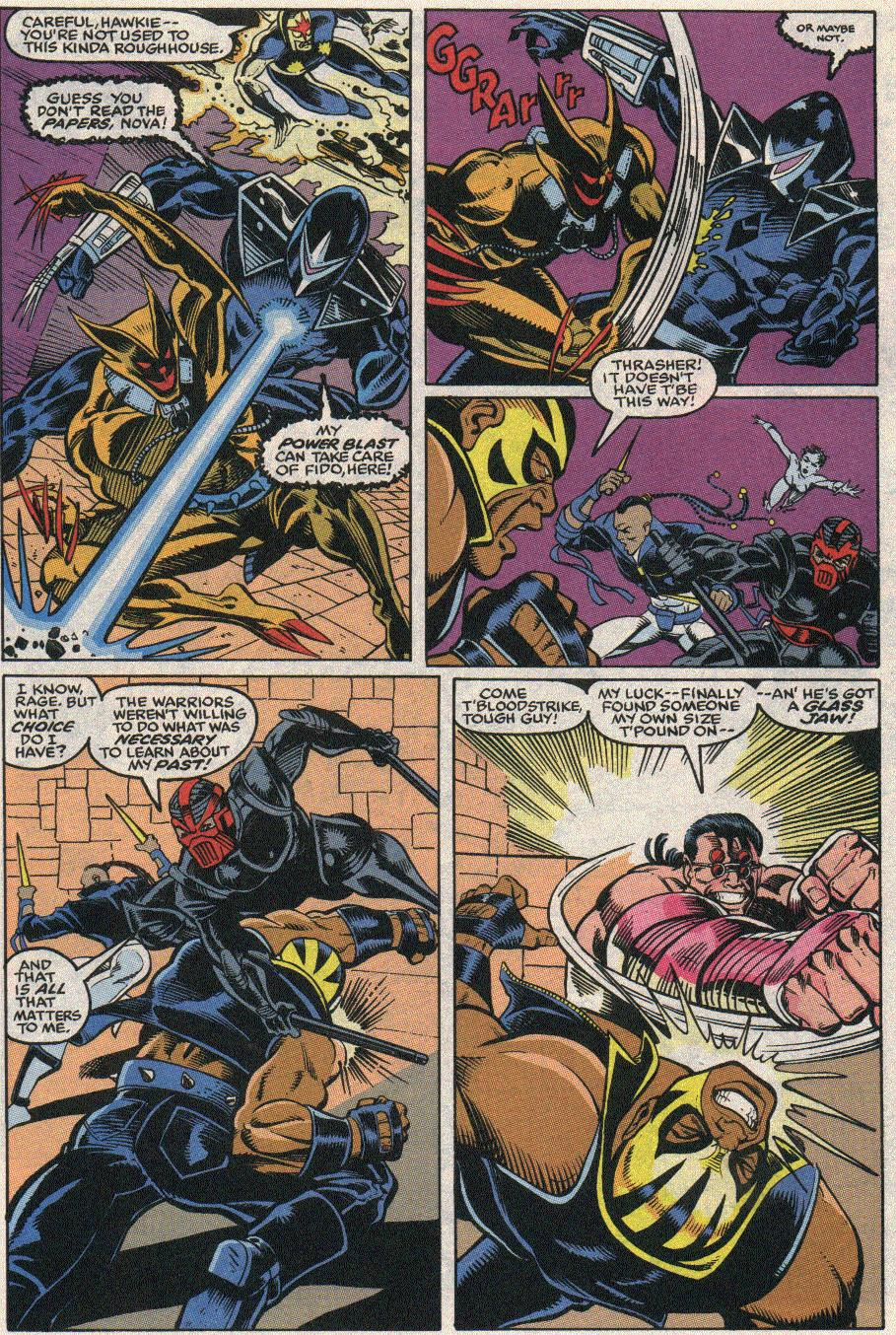 The New Warriors Issue #24 #28 - English 4