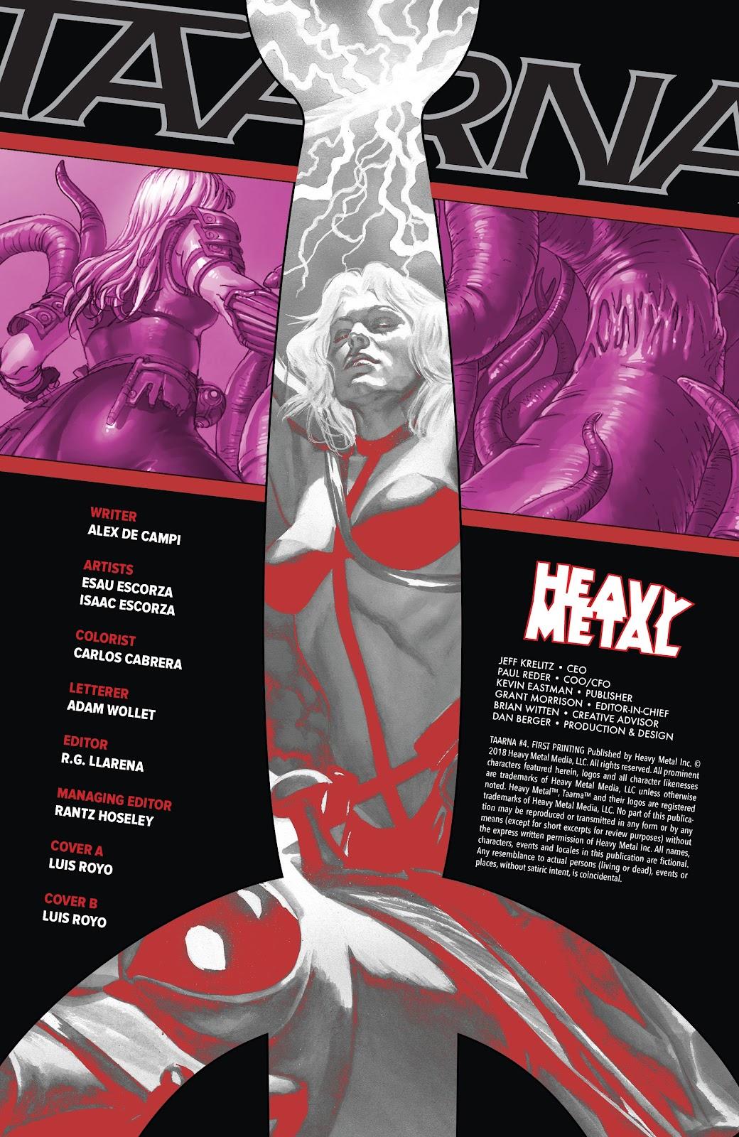 Read online Taarna comic -  Issue #4 - 2