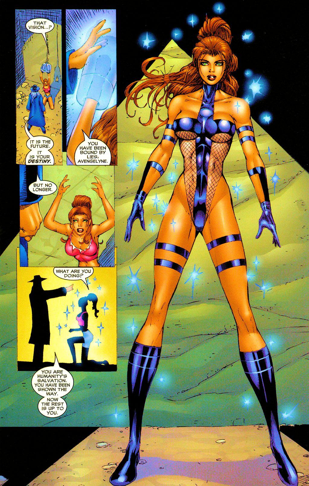 Read online Avengelyne (1999) comic -  Issue #Avengelyne (1999) Full - 17