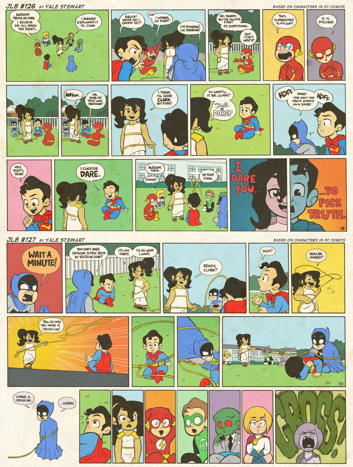 Read online JL8 – The Complete Collection comic -  Issue # TPB (Part 1) - 67