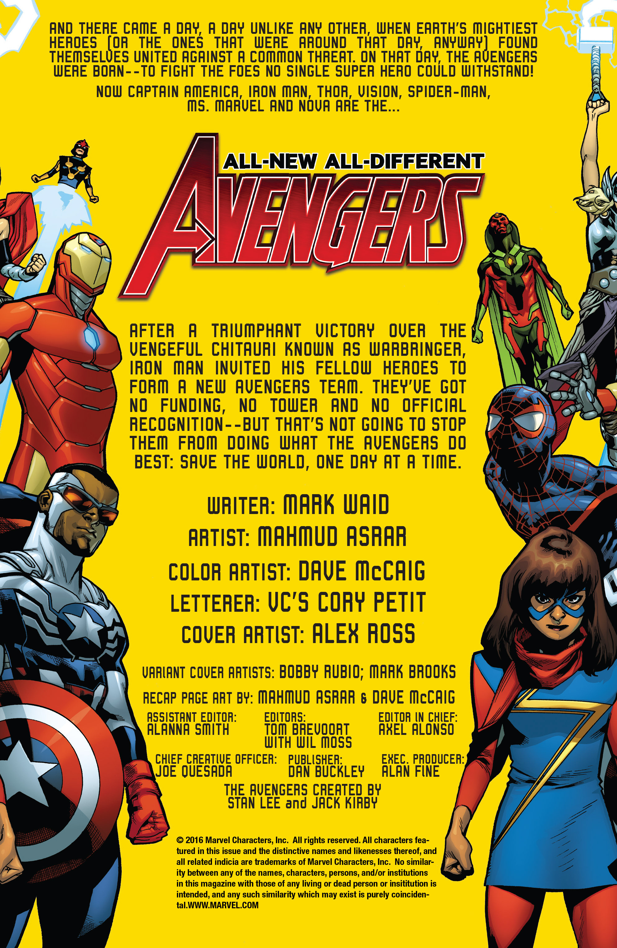 Read online All-New, All-Different Avengers comic -  Issue #4 - 2
