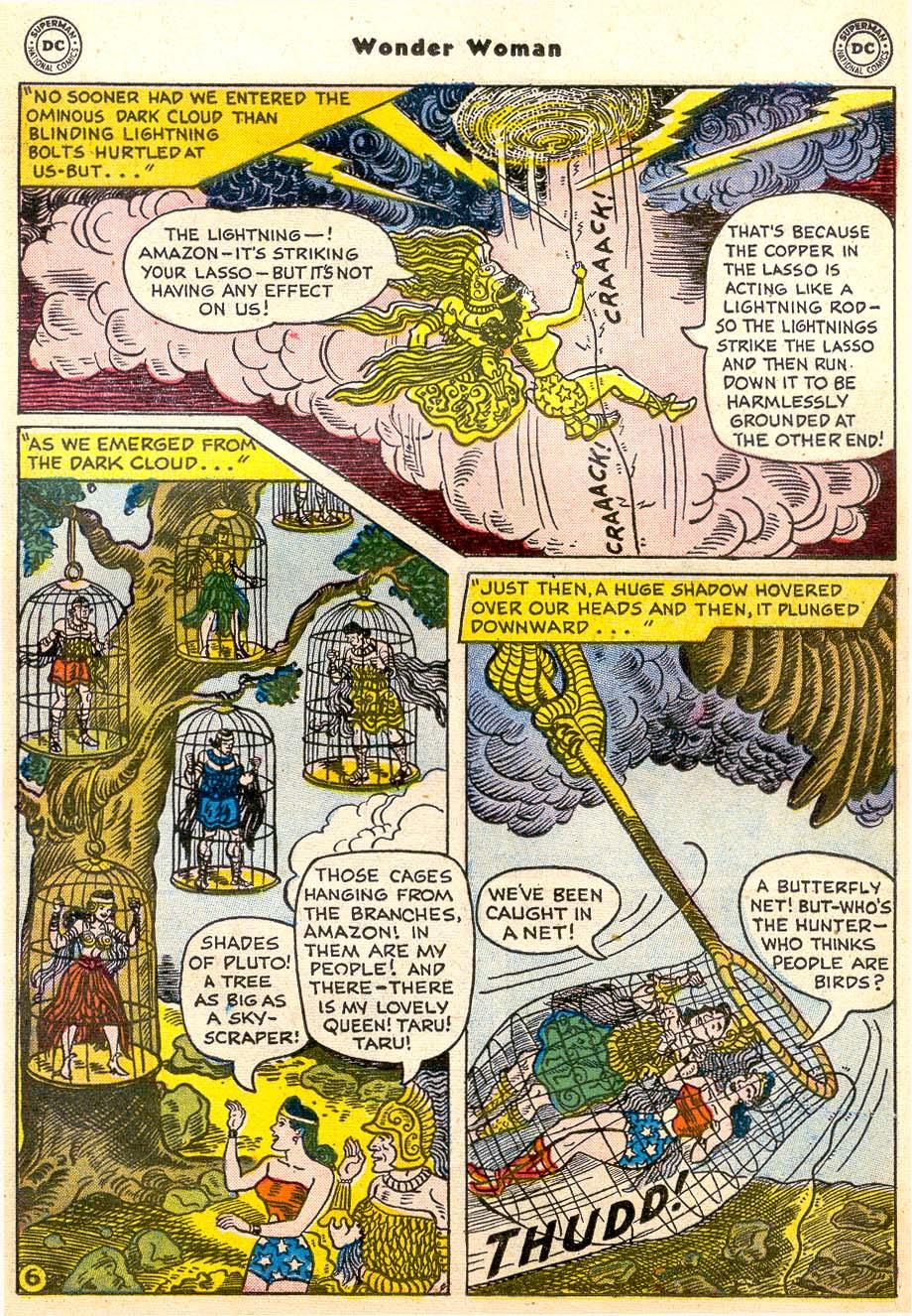 Read online Wonder Woman (1942) comic -  Issue #91 - 21