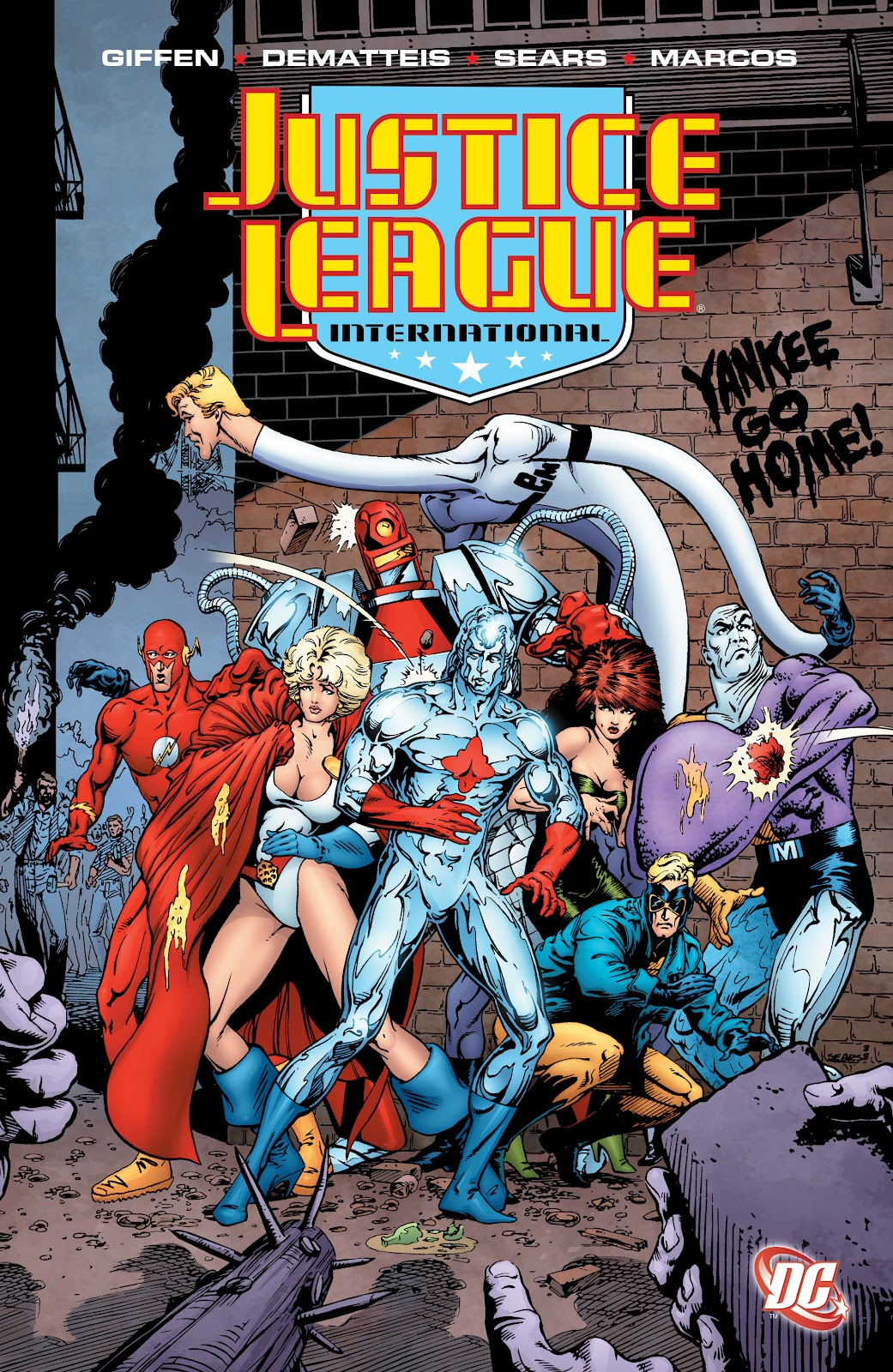 Justice League International (2008) issue TPB 5 - Page 1
