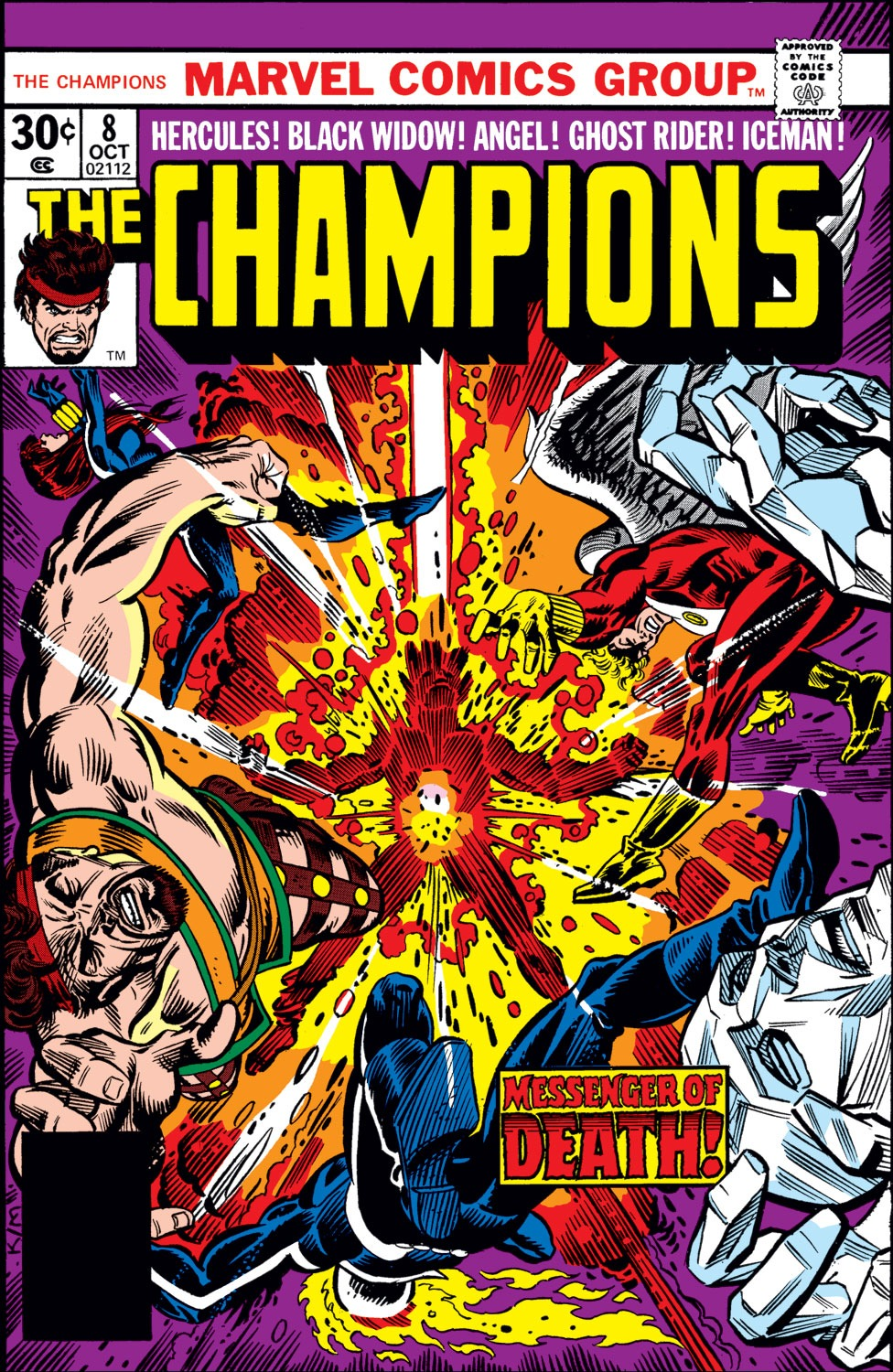 The Champions issue 8 - Page 1