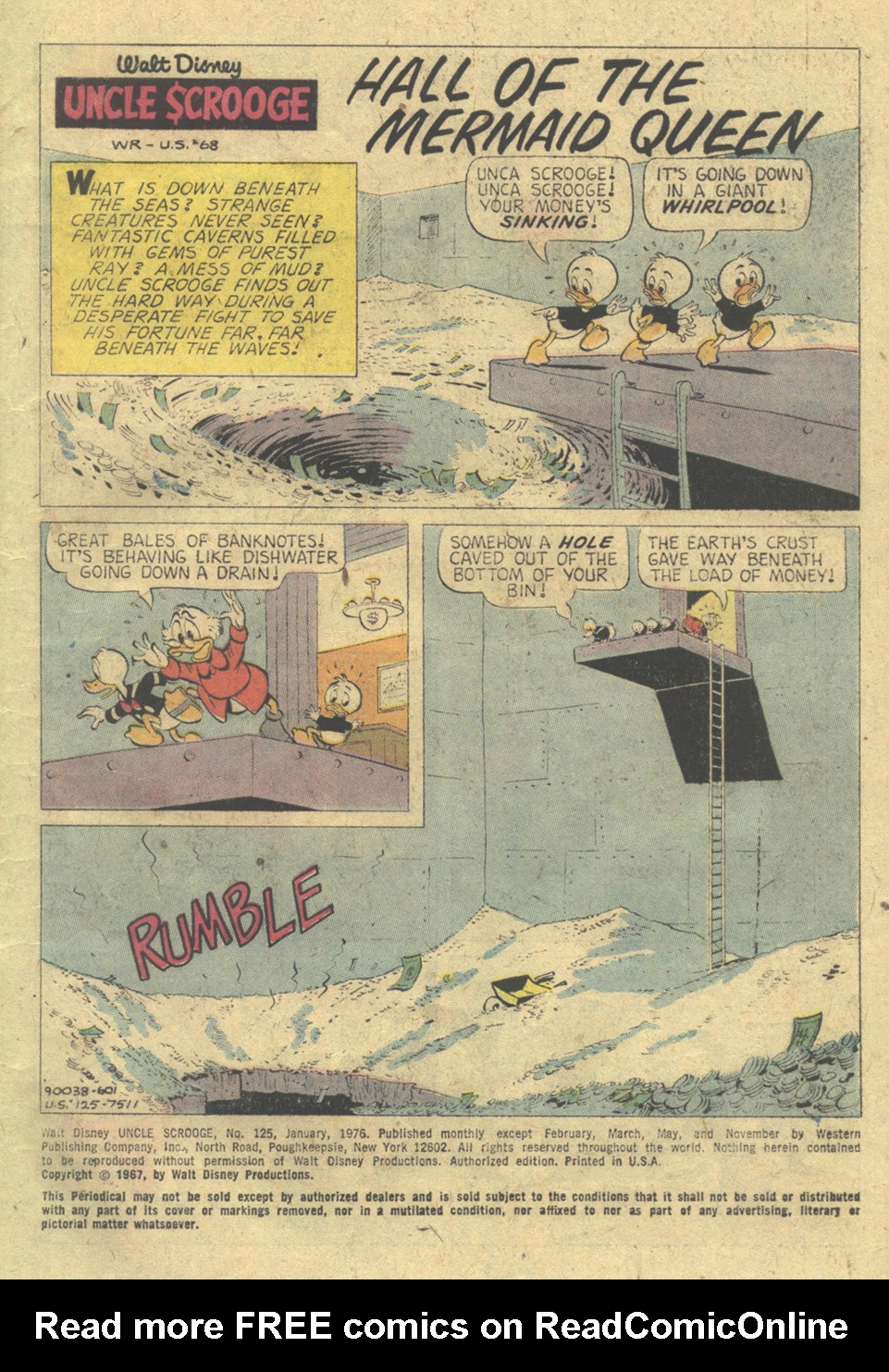 Read online Uncle Scrooge (1953) comic -  Issue #125 - 3