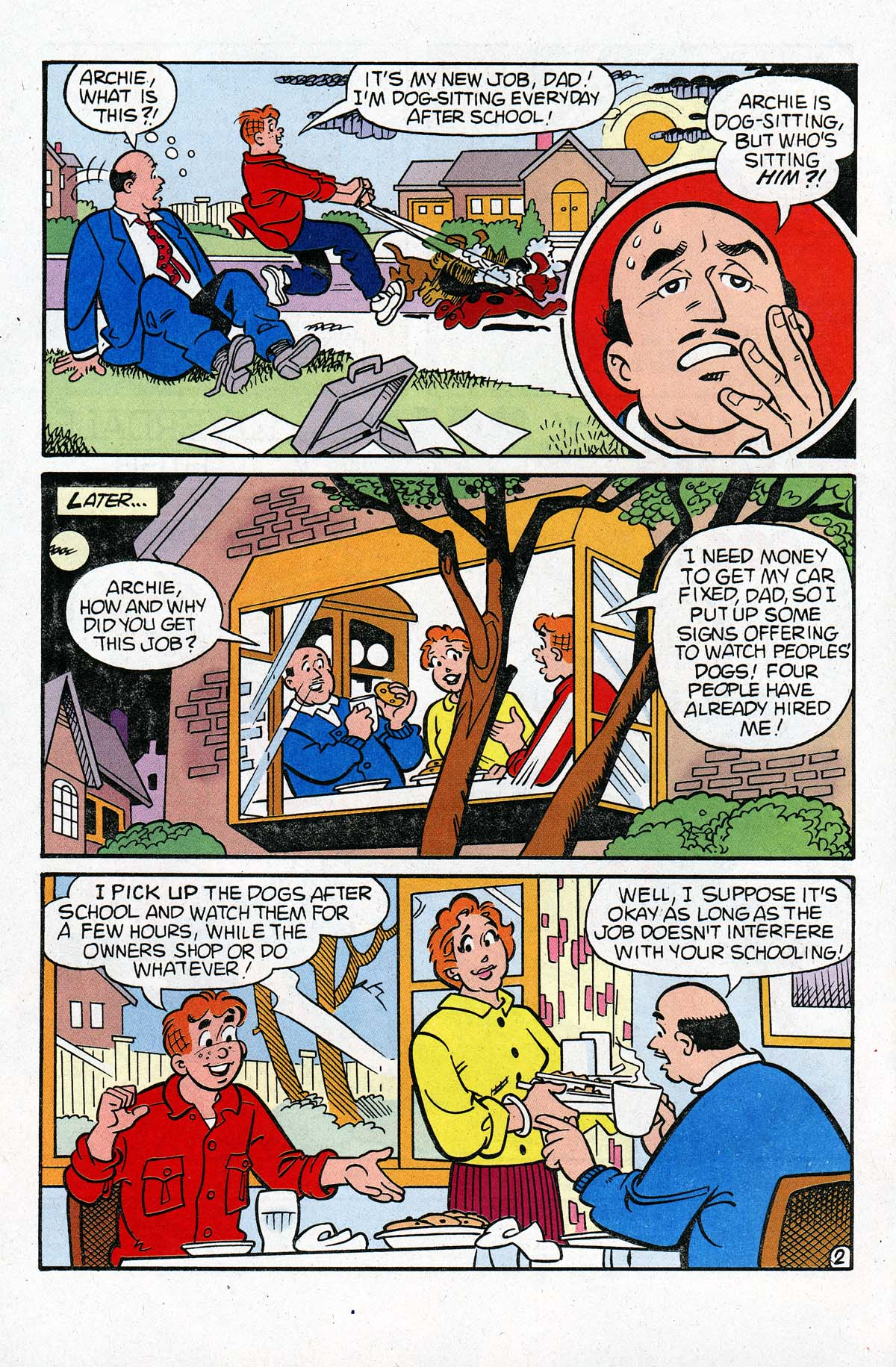 Read online Archie (1960) comic -  Issue #534 - 3