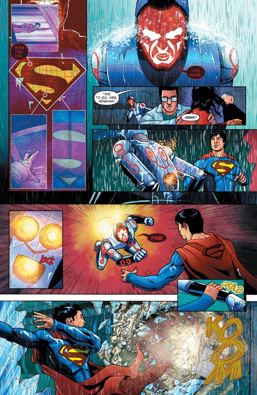 Read online Smallville Season 11 [II] comic -  Issue # TPB 1 - 111