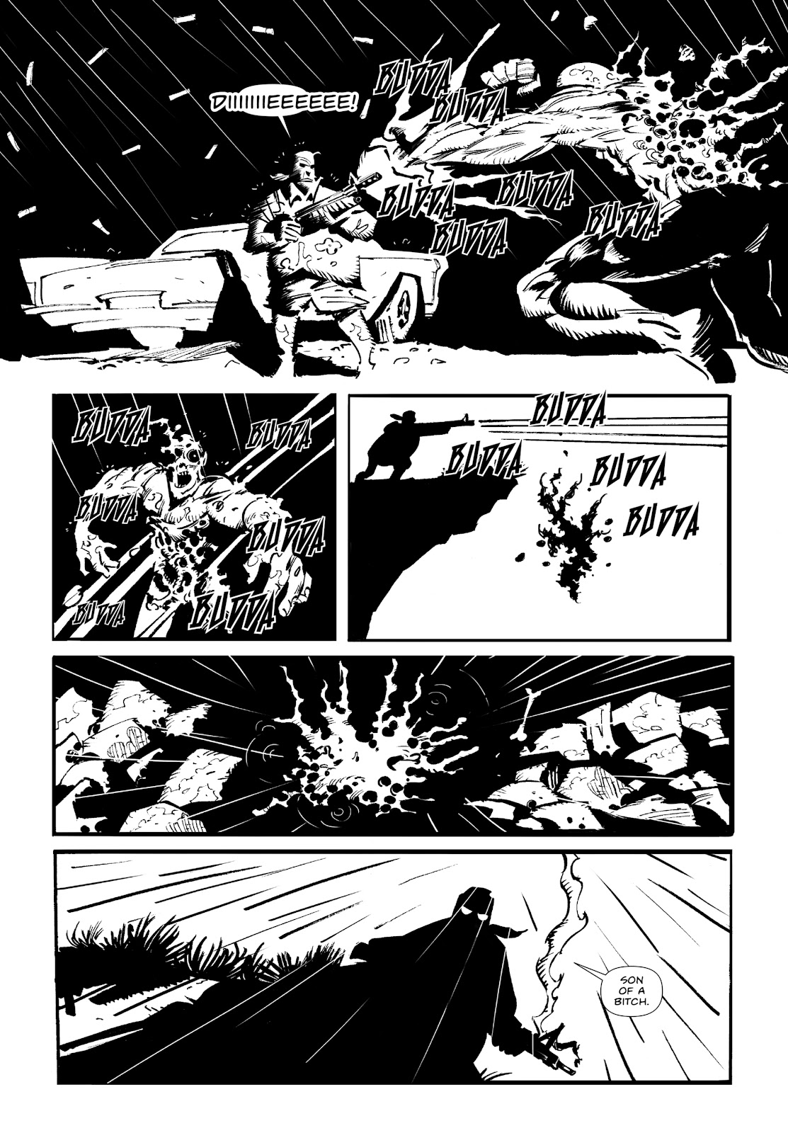 Read online Wrath of God comic -  Issue #3 - 10