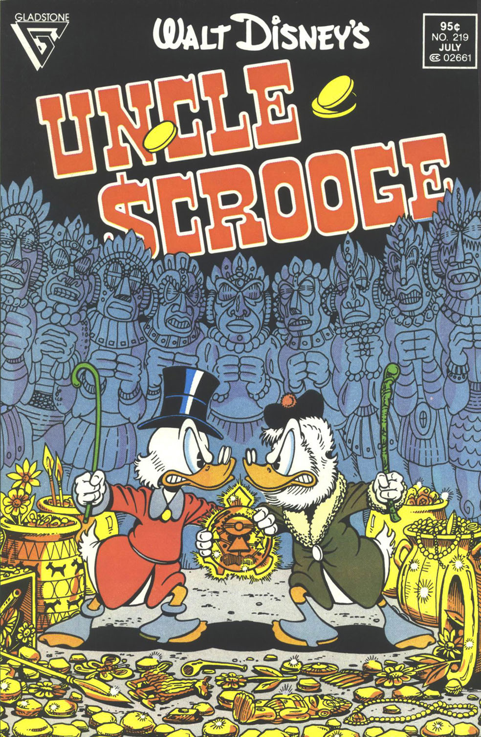 Read online Uncle Scrooge (1953) comic -  Issue #219 - 1