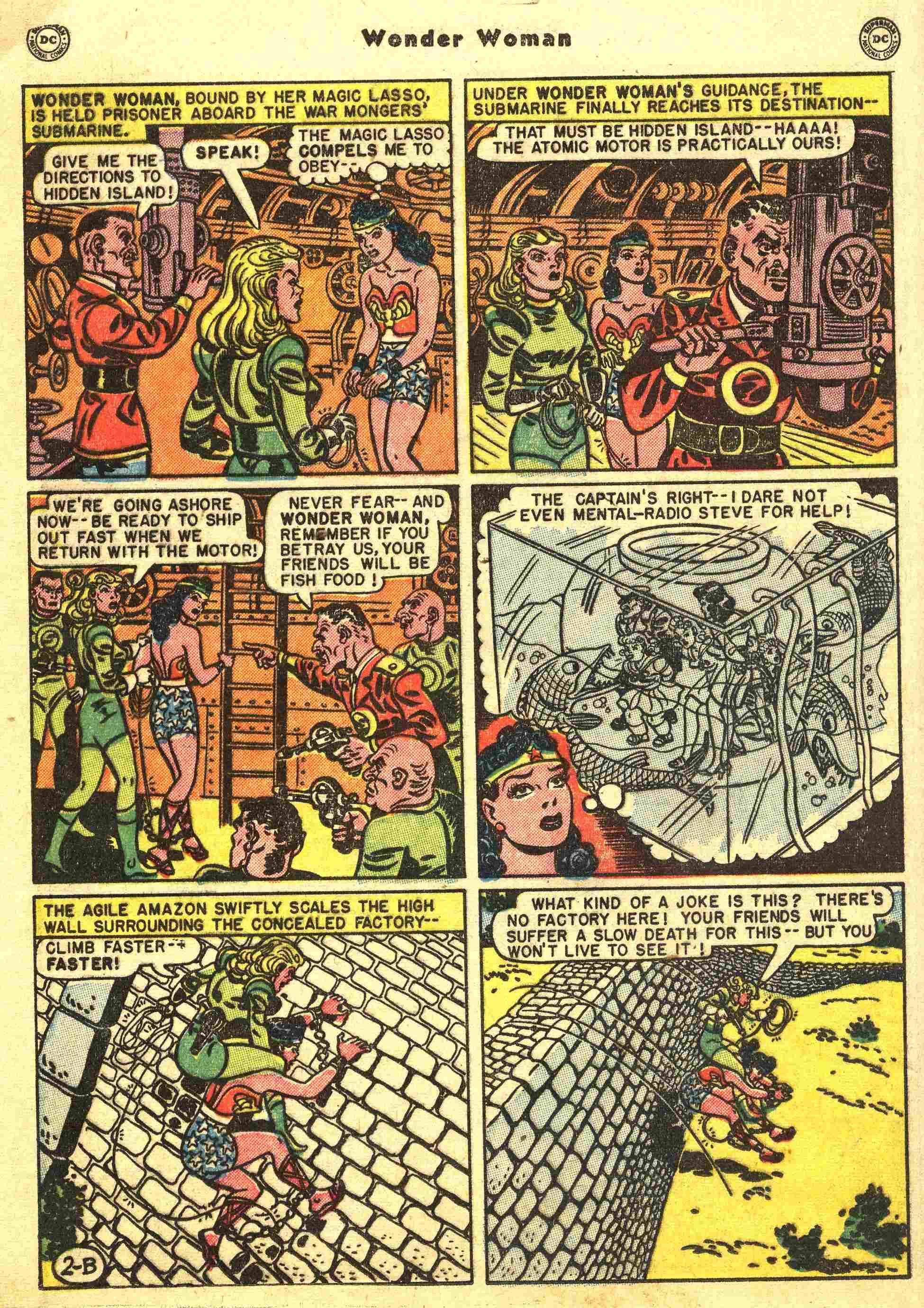 Read online Wonder Woman (1942) comic -  Issue #44 - 15
