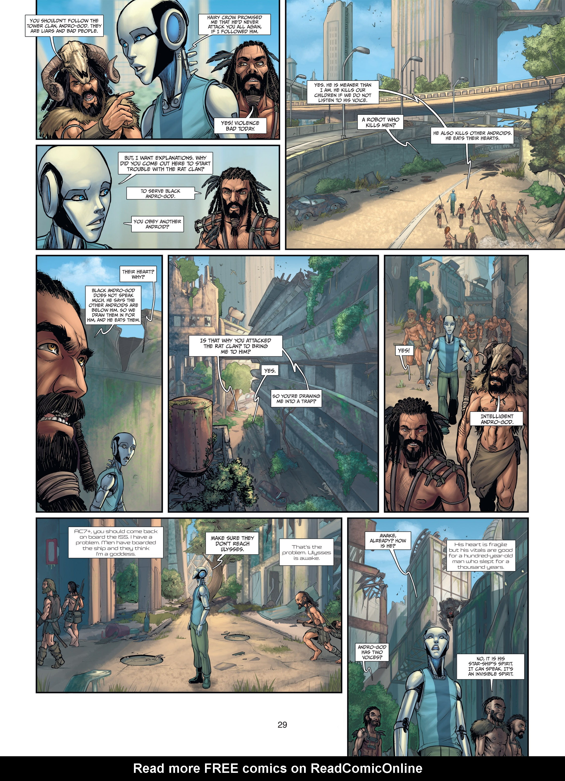 Read online Androïds comic -  Issue #2 - 29