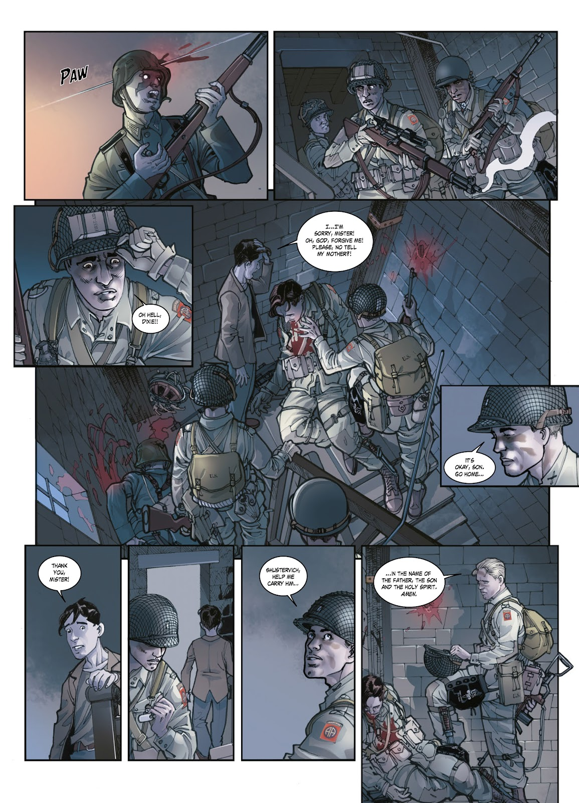 Read online Opération Overlord comic -  Issue #1 - 44