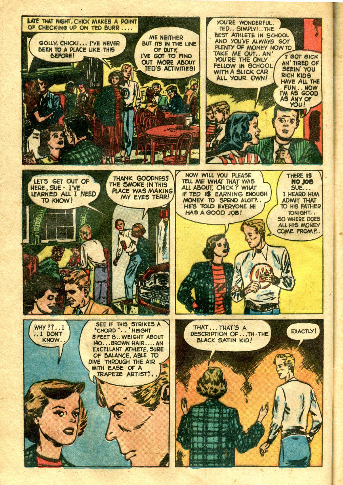 Read online Shadow Comics comic -  Issue #99 - 44