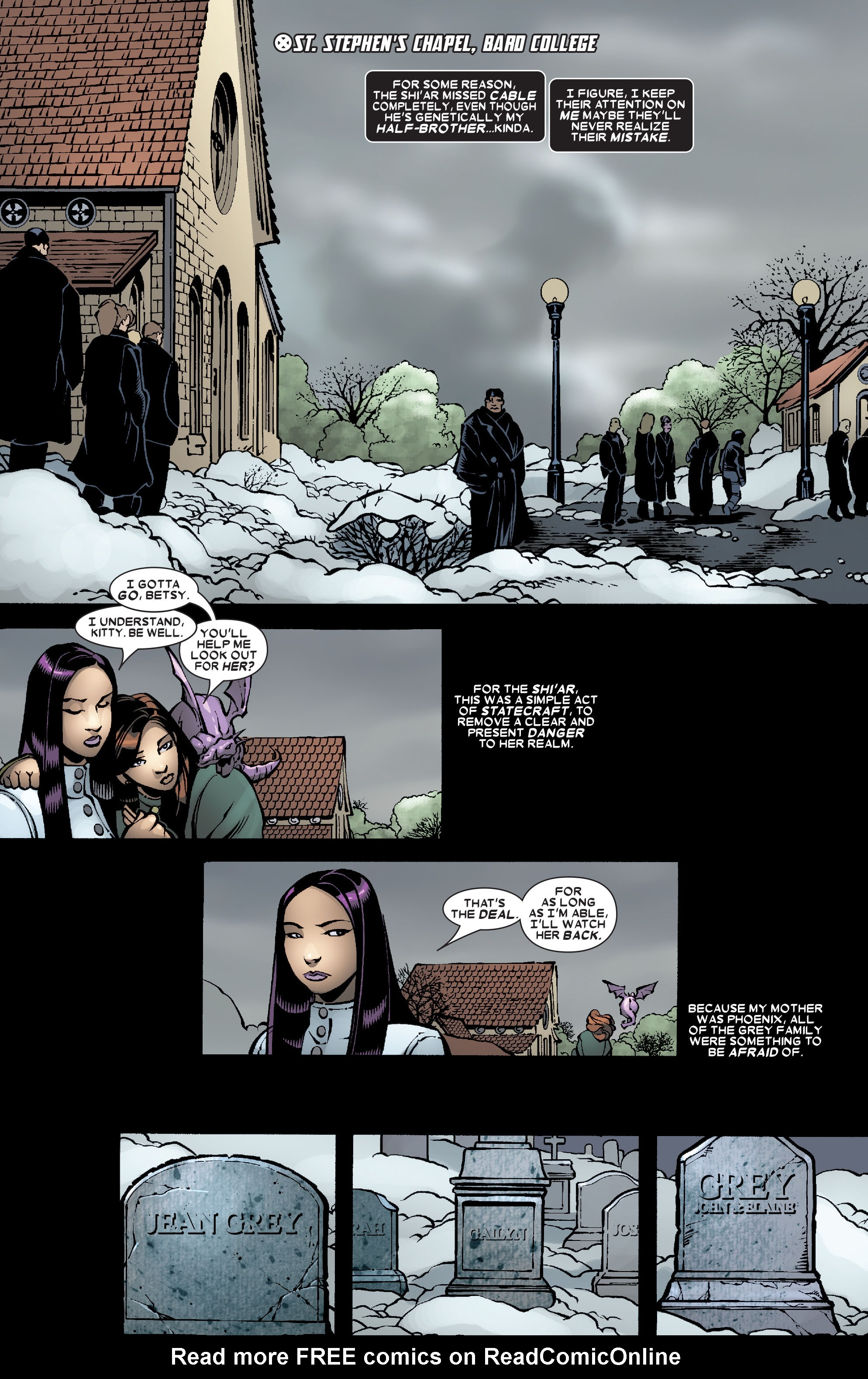 Read online Uncanny X-Men (1963) comic -  Issue #468 - 21