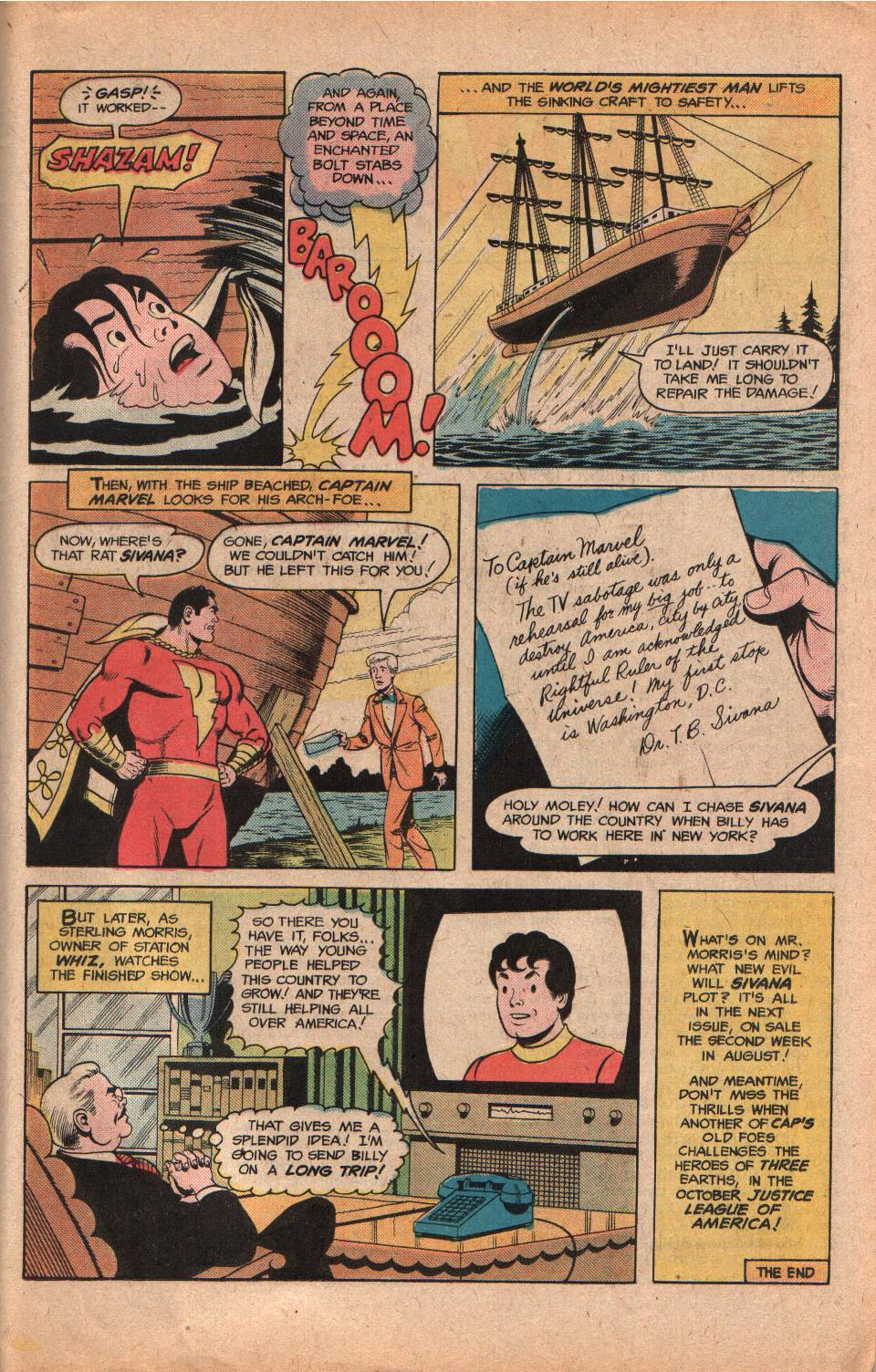 Read online Shazam! (1973) comic -  Issue #25 - 31