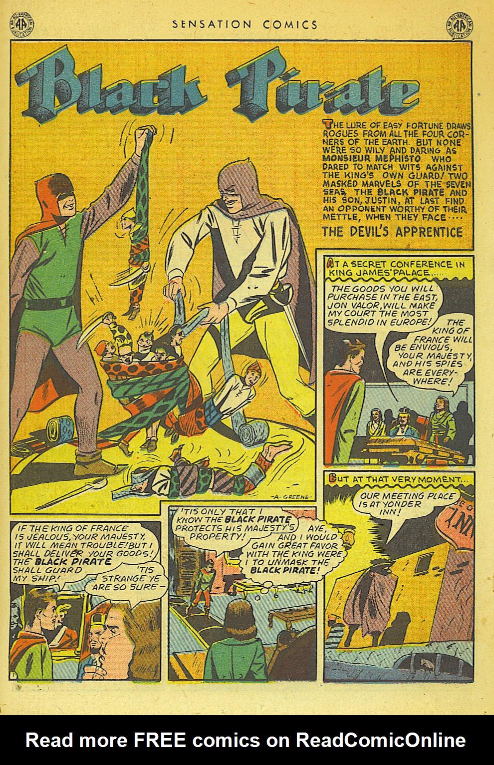 Read online Sensation (Mystery) Comics comic -  Issue #42 - 23